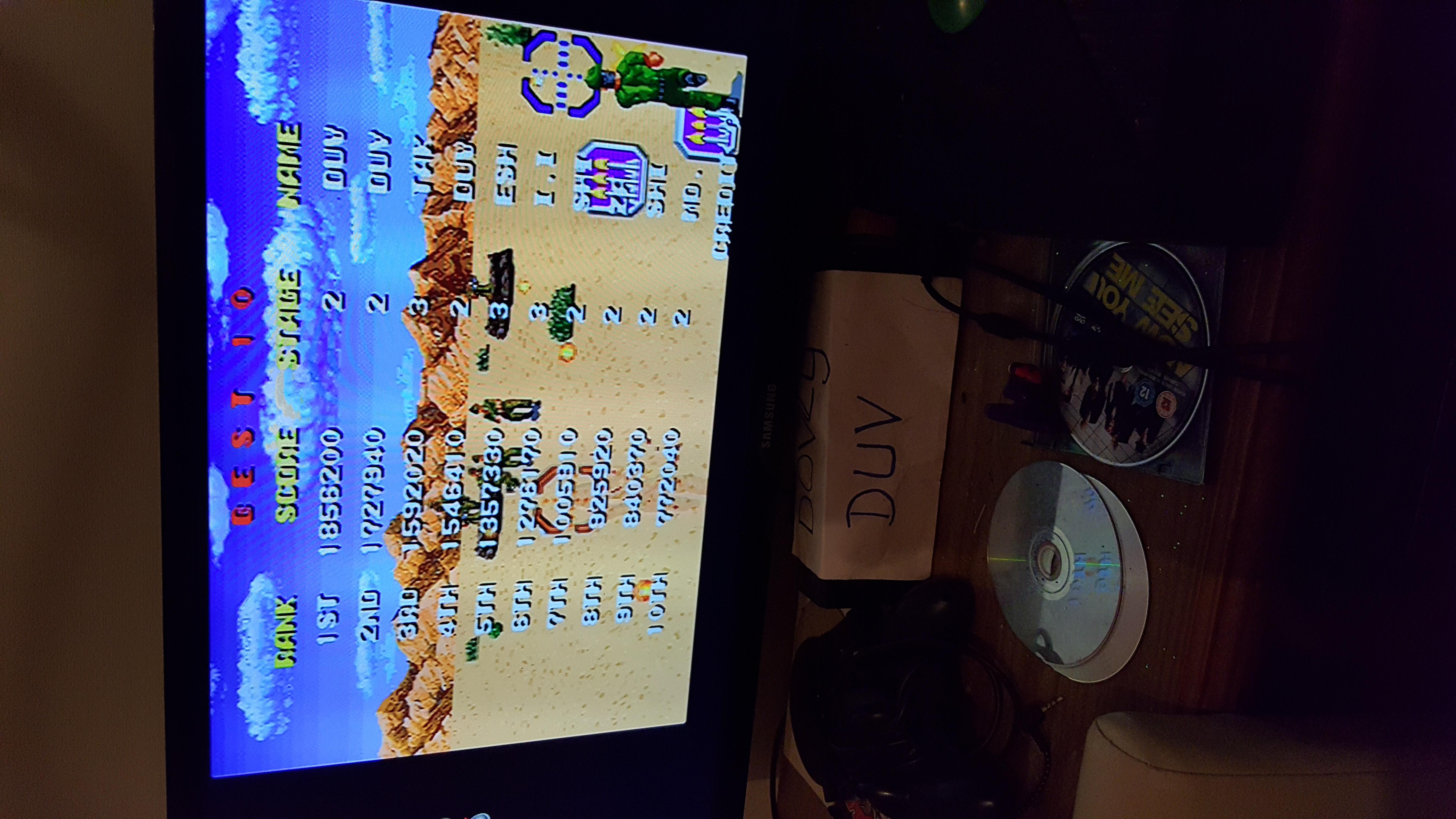 Rambo III 1,856,200 points