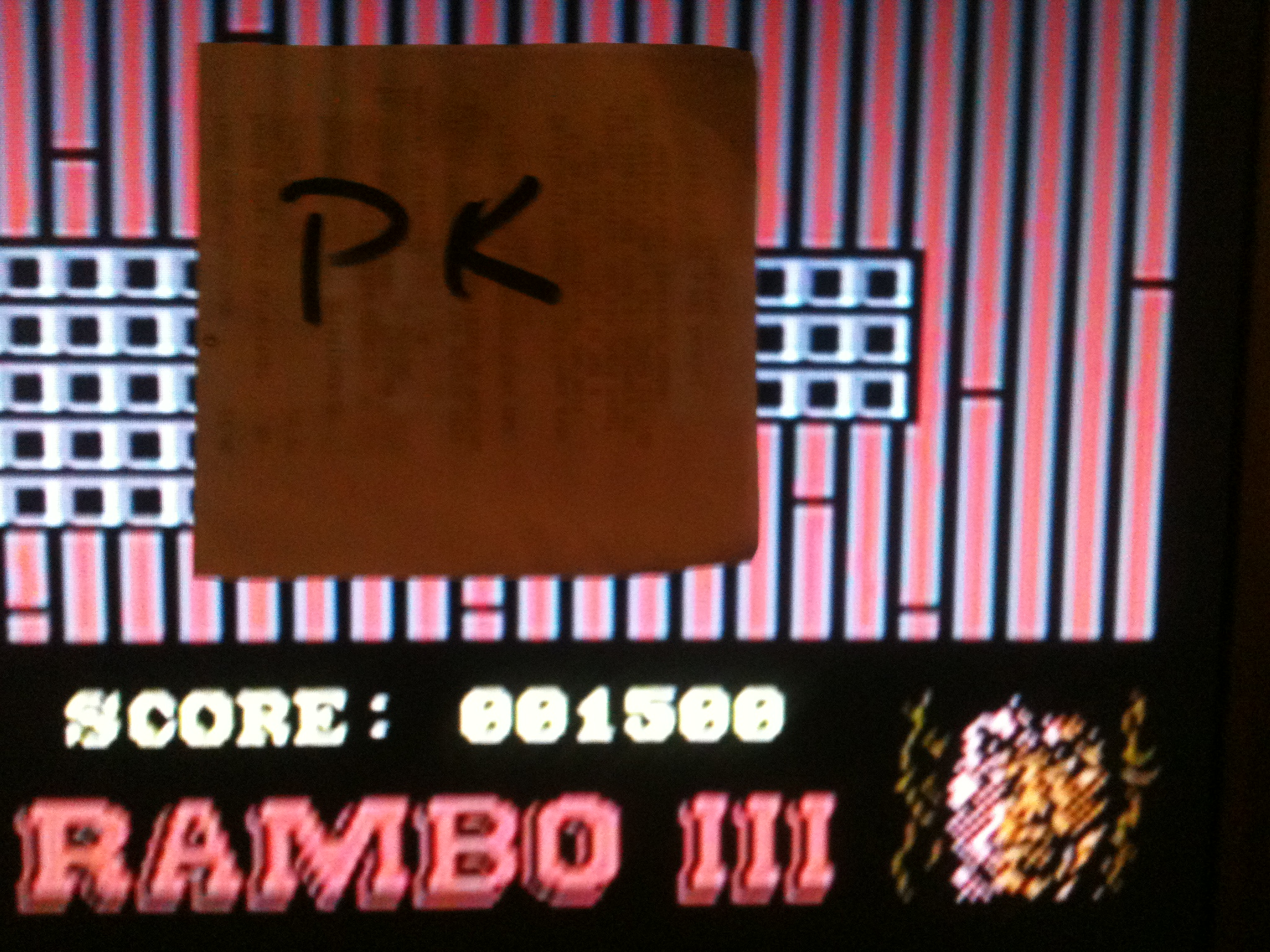 kernzy: Rambo III (Commodore 64 Emulated) 1,500 points on 2015-09-25 22:14:42