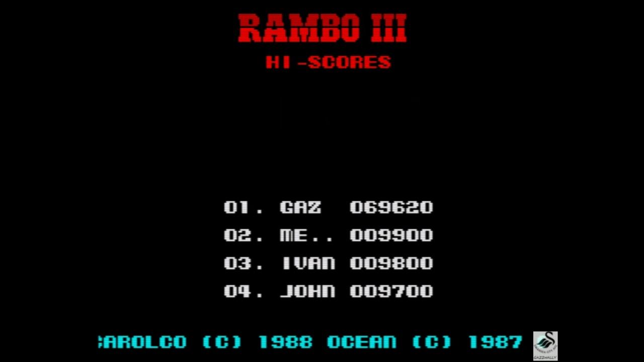 Rambo III 69,620 points