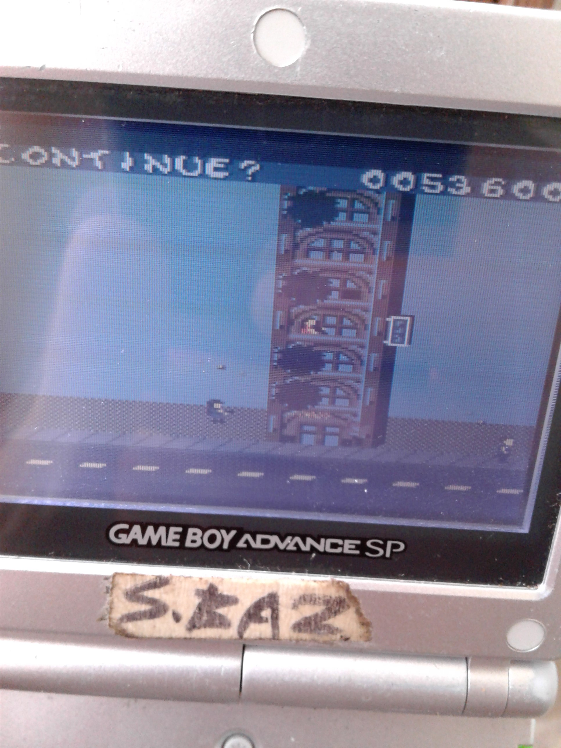 S.BAZ: Rampage 2: Universal Tour [Easy] (Game Boy Color) 53,600 points on 2019-11-22 04:19:43