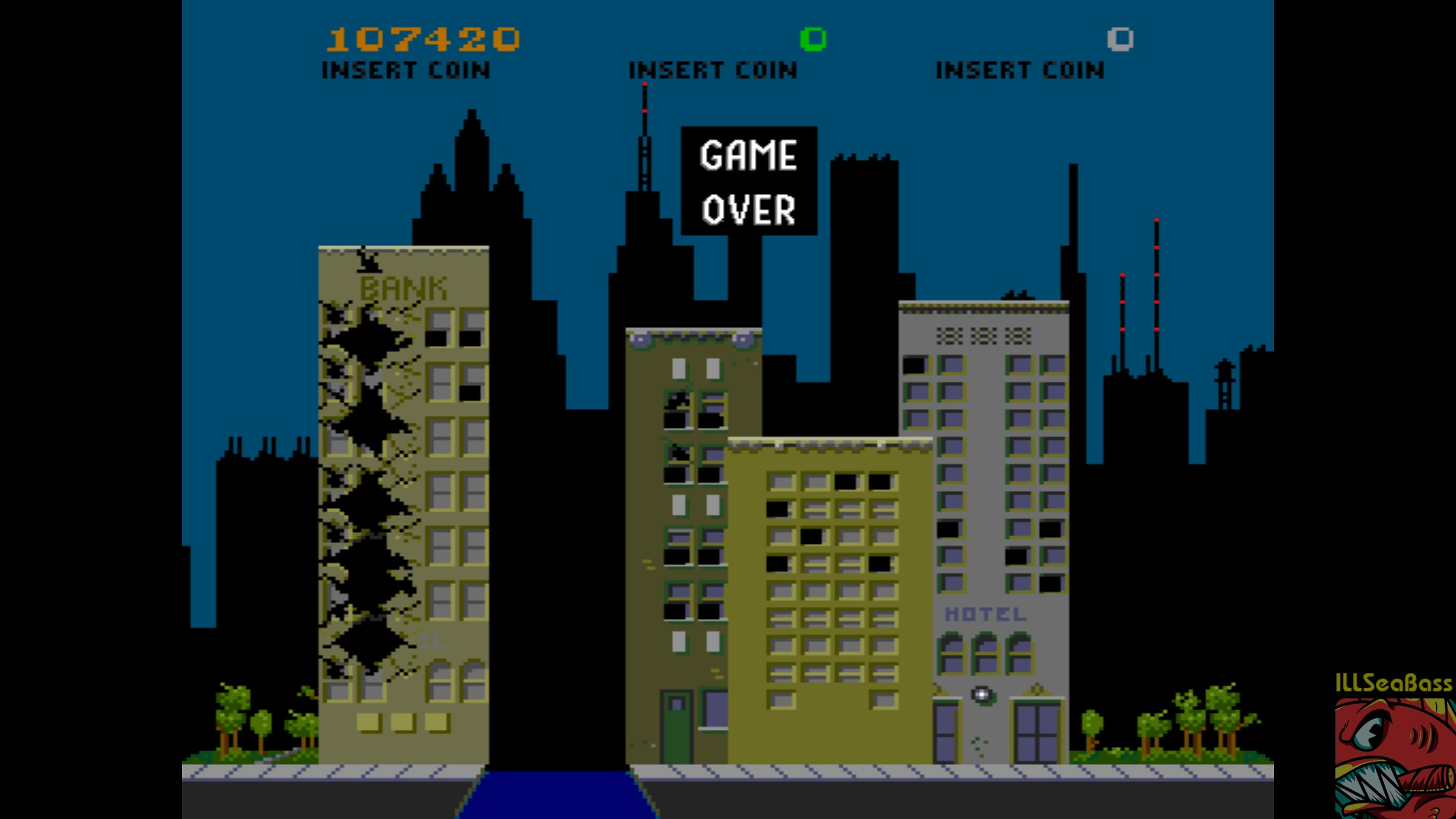 ILLSeaBass: Rampage (Arcade Emulated / M.A.M.E.) 107,420 points on 2018-04-02 23:43:49