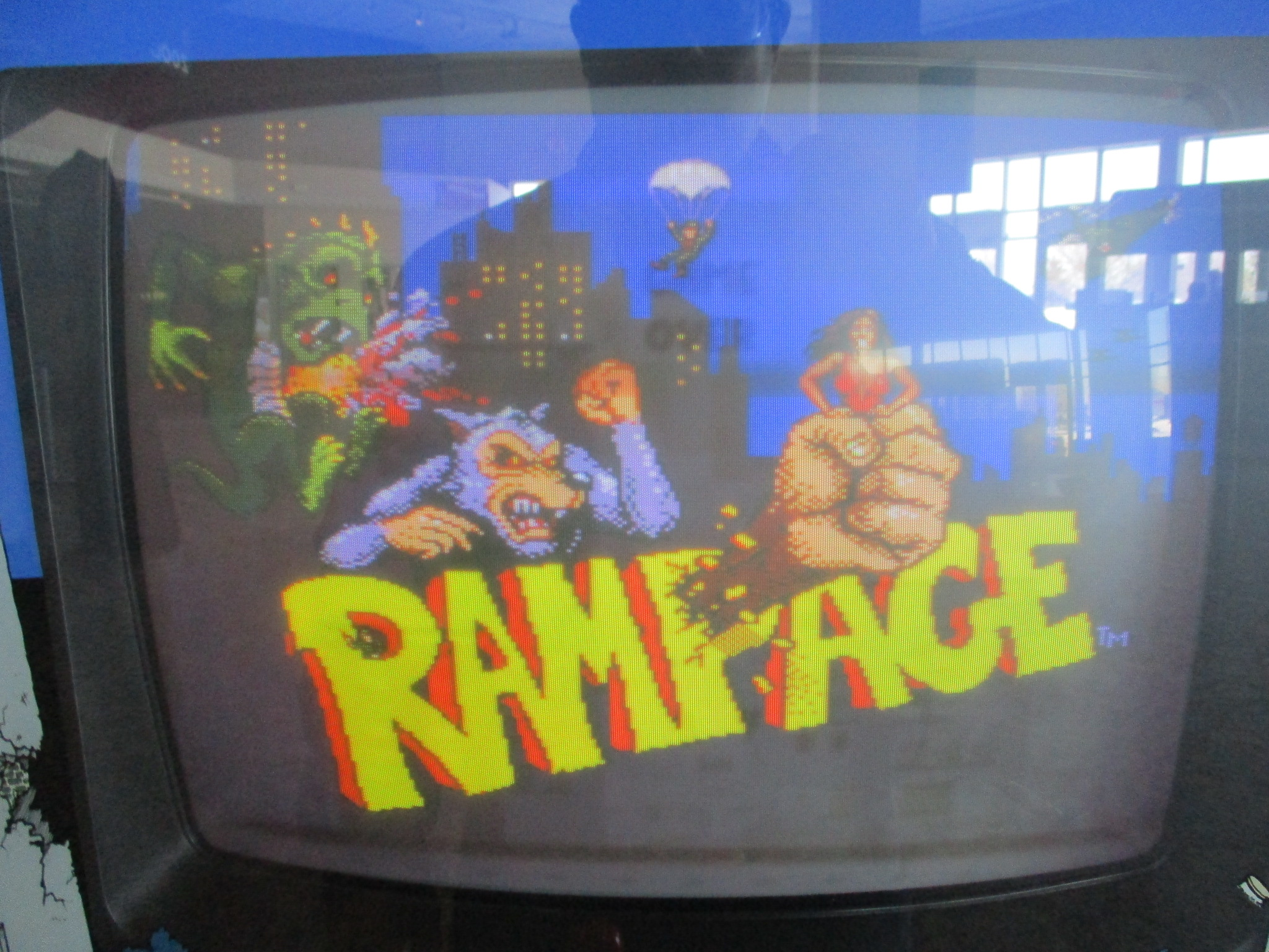 ed1475: Rampage (Arcade) 55,850 points on 2016-02-11 19:59:50