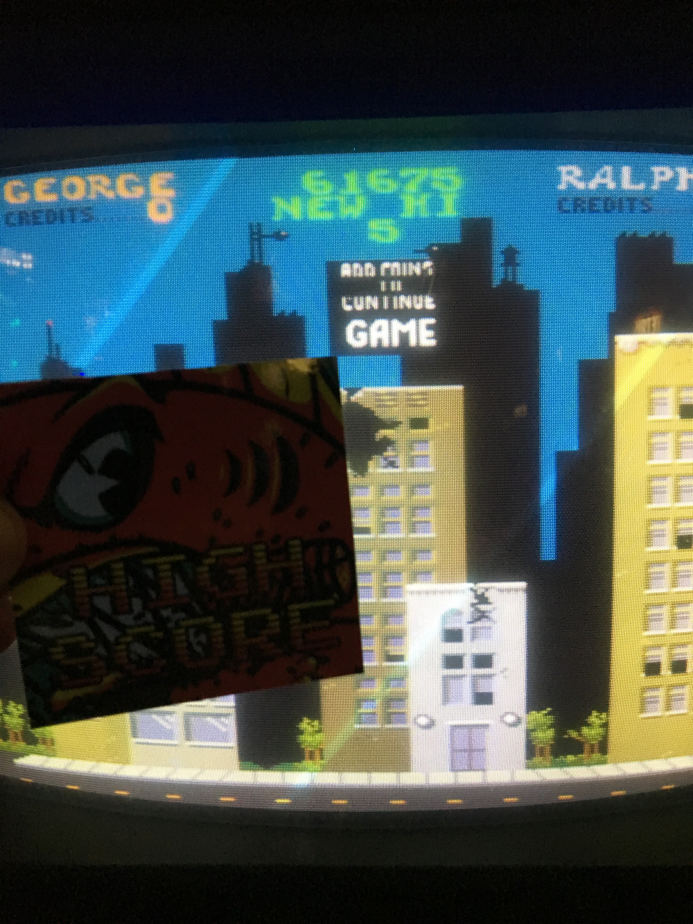 Rampage 61,675 points