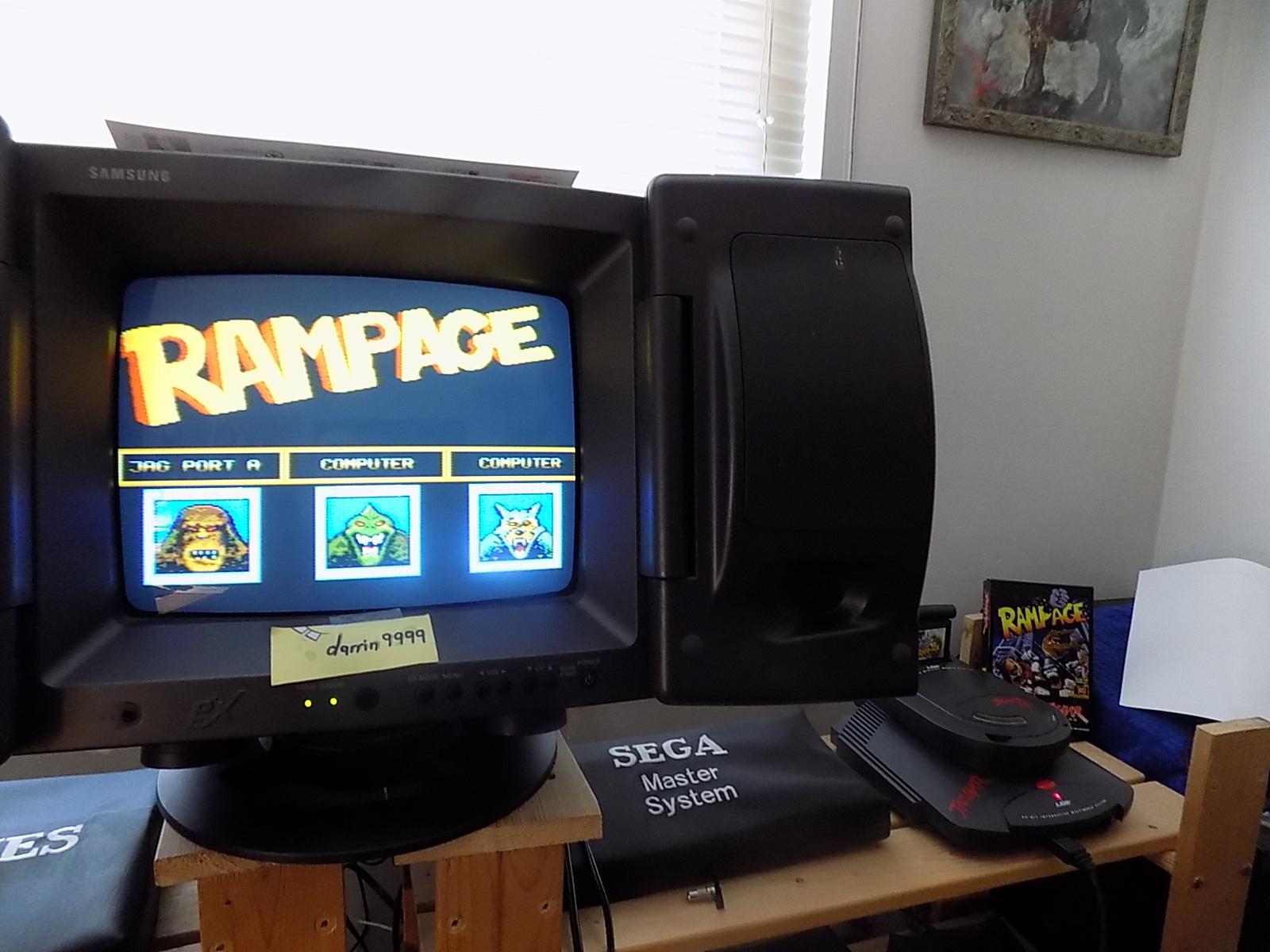 darrin9999: Rampage (Atari Jaguar) 21,600 points on 2019-12-25 11:46:50