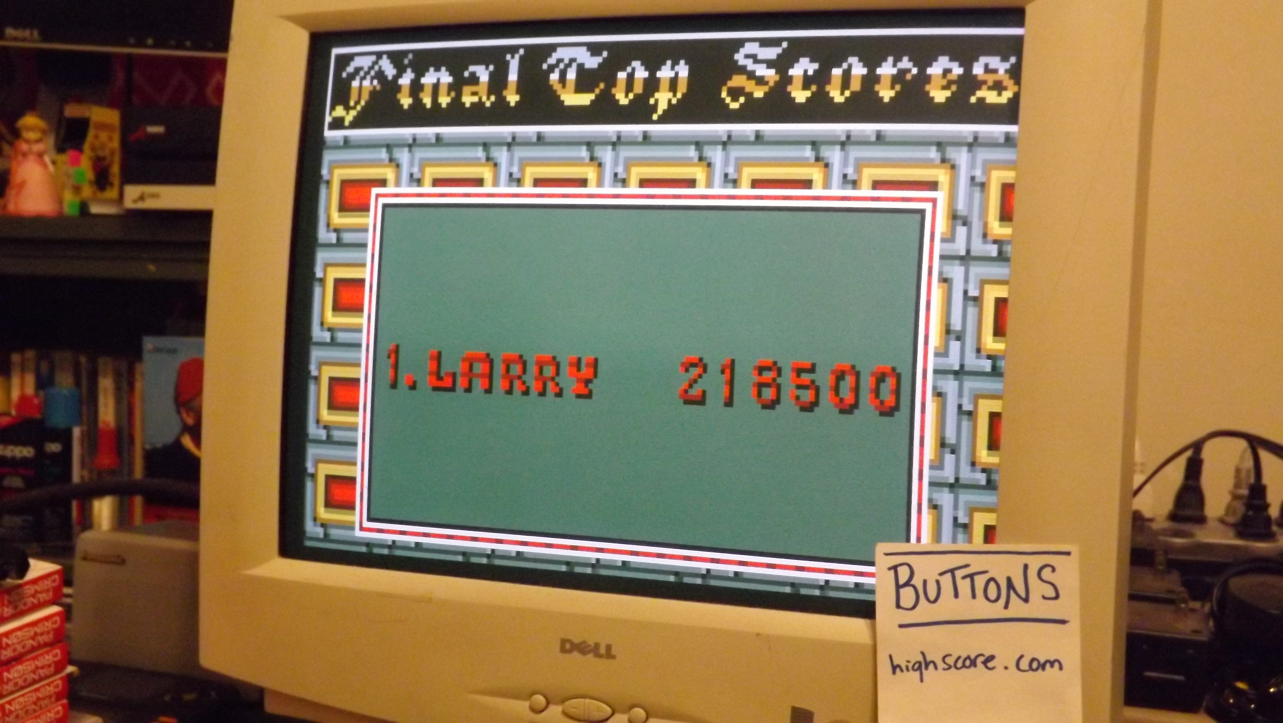 Buttons: Rampage (Atari Lynx) 218,500 points on 2017-05-20 20:02:30