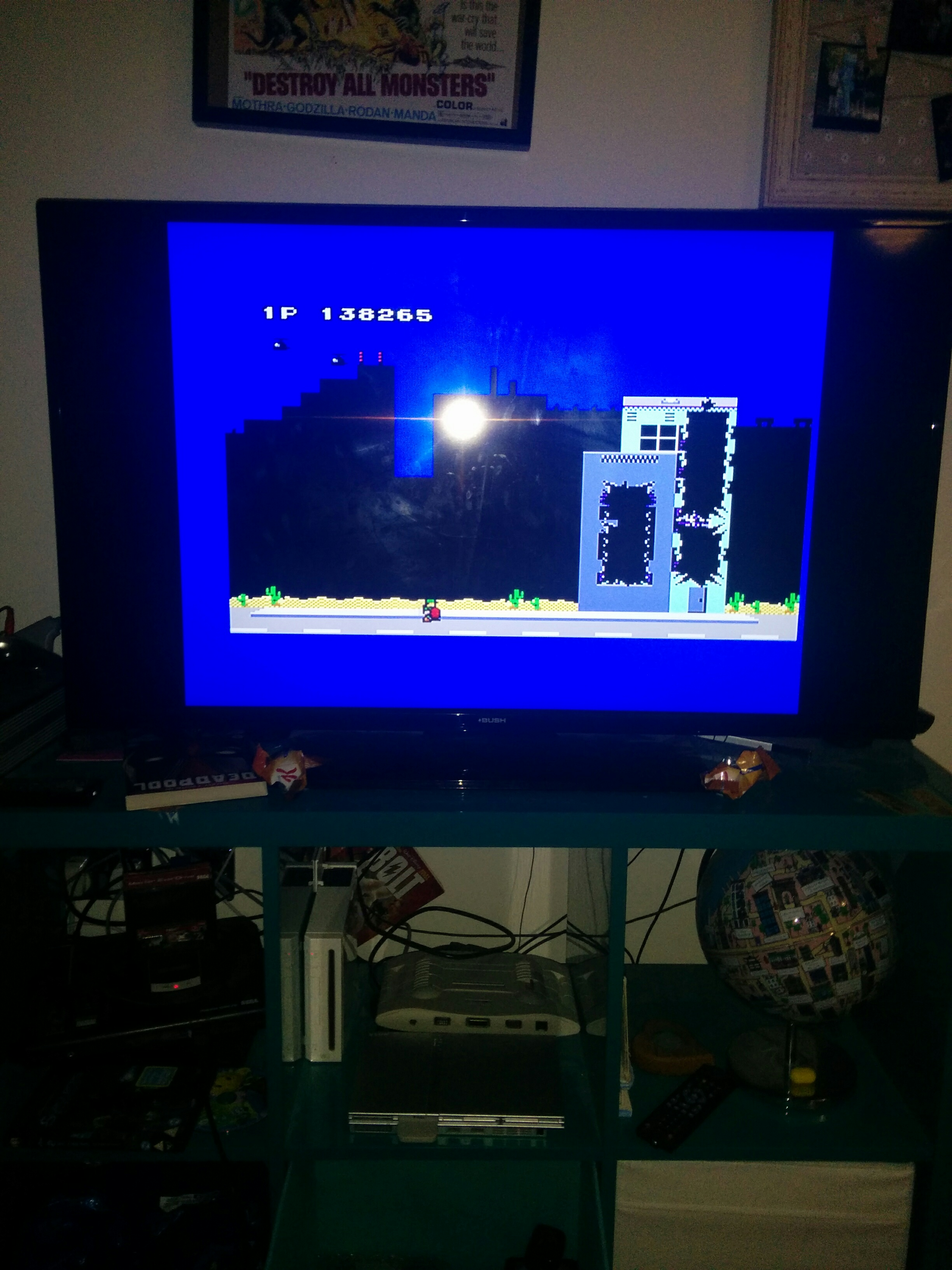 mechafatnick: Rampage (Sega Master System) 138,265 points on 2016-07-06 15:35:56
