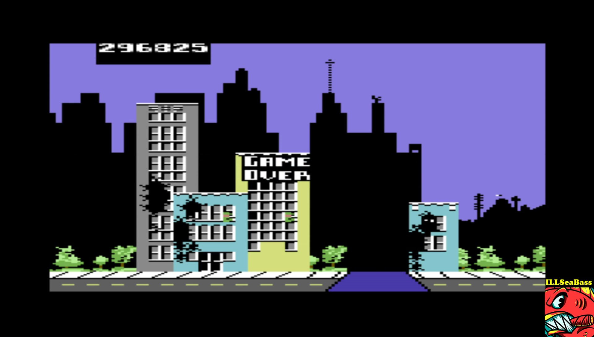 ILLSeaBass: Rampage [USA Version] (Commodore 64 Emulated) 296,825 points on 2017-02-25 22:03:18
