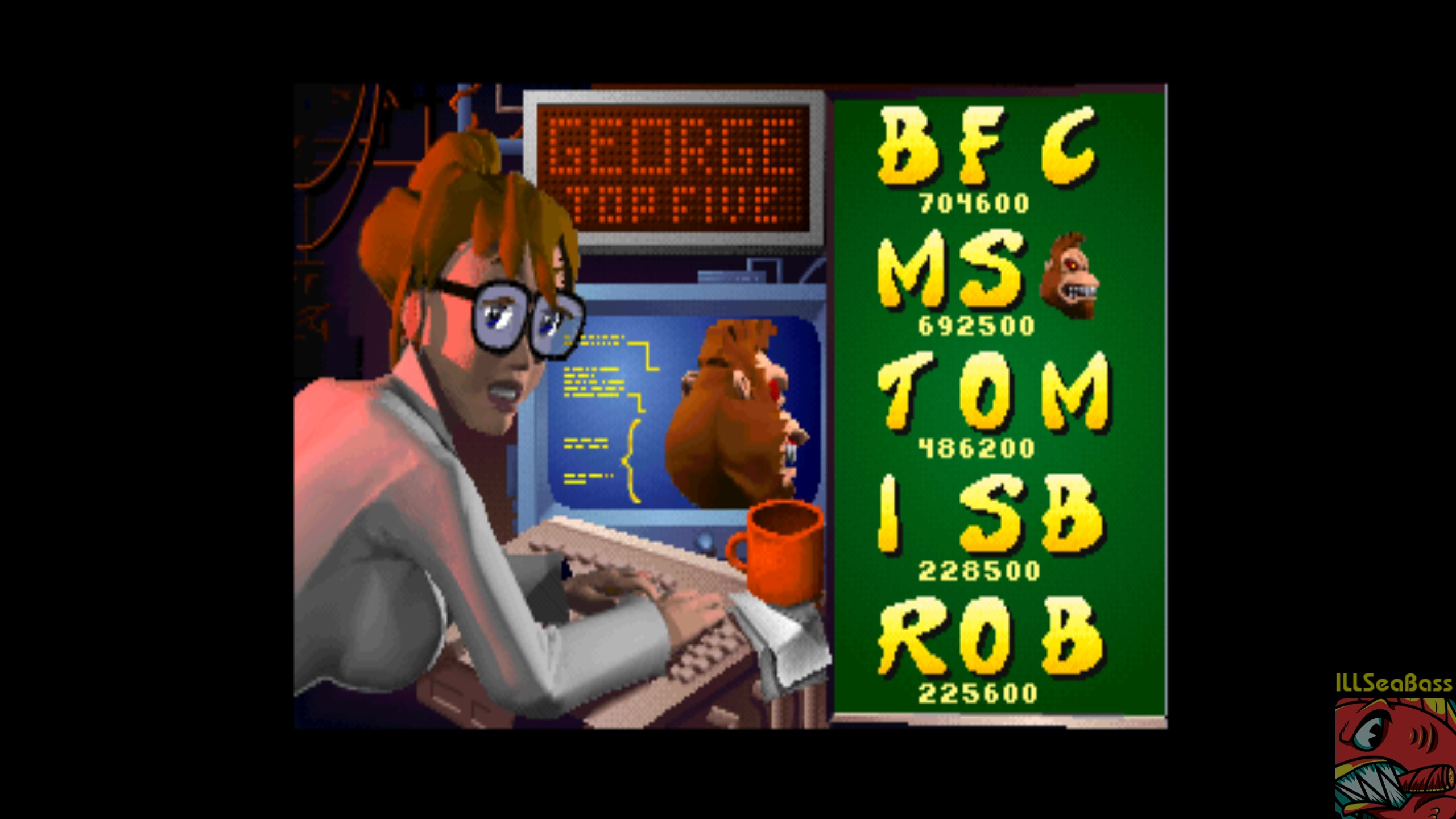 ILLSeaBass: Rampage World Tour [rmpgwt] (Arcade Emulated / M.A.M.E.) 228,500 points on 2018-04-14 15:04:39