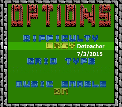 Deteacher: Rampart [Easy] (NES/Famicom Emulated) 8,396 points on 2015-07-03 19:36:25