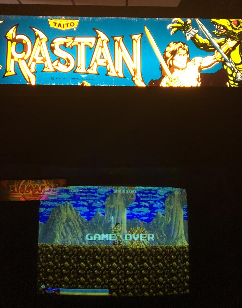 ILLSeaBass: Rastan (Arcade) 81,100 points on 2017-03-12 18:33:11