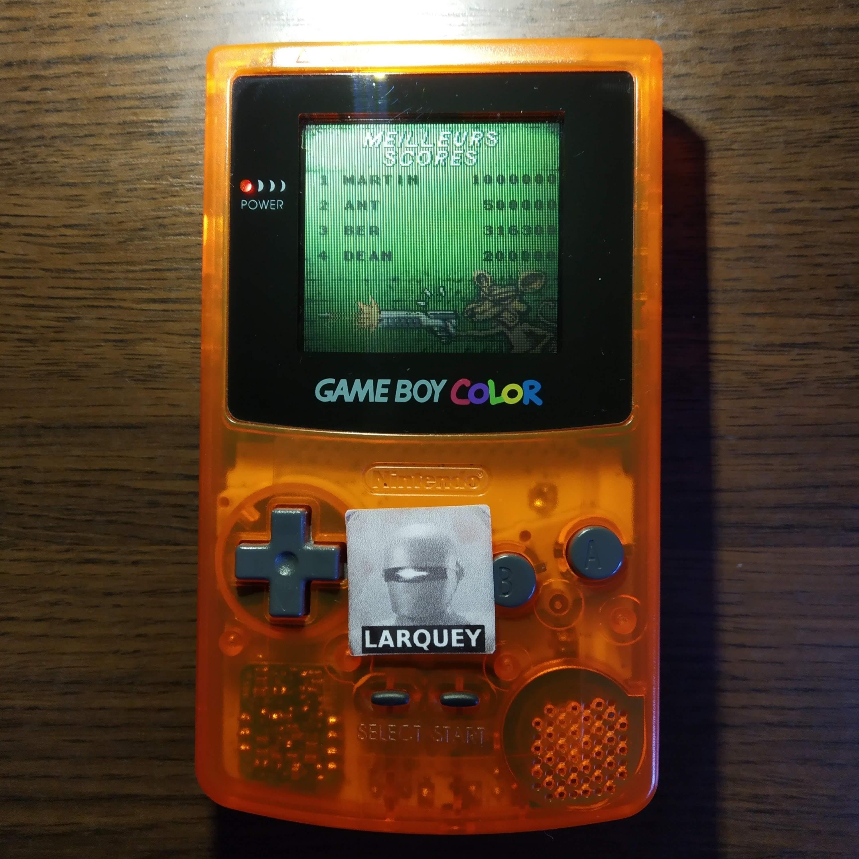 Larquey: Rats! [aka Reservoir Rat] (Game Boy Color) 316,300 points on 2020-07-21 06:02:04