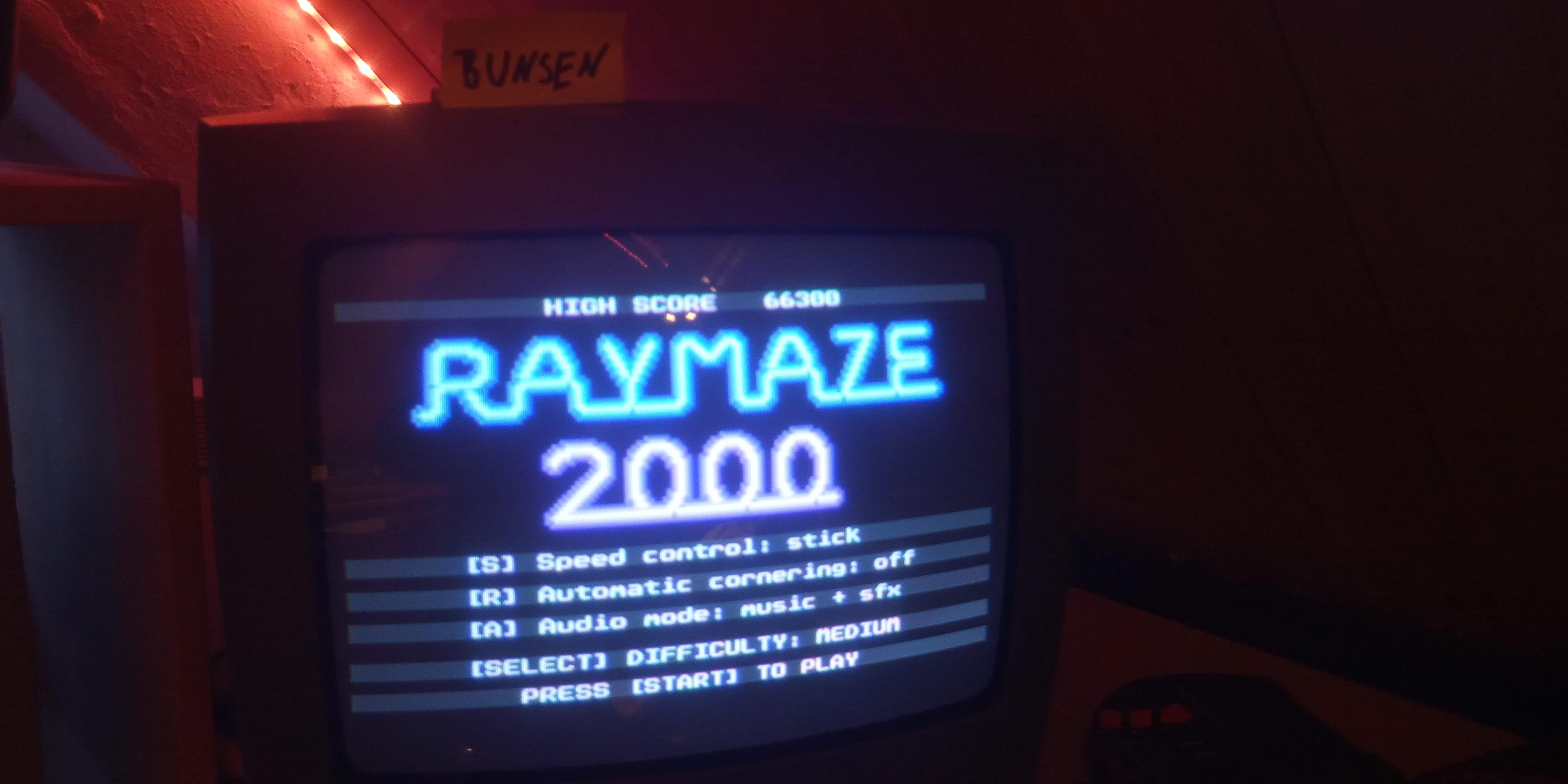 Raymaze 2000 [Difficulty: Medium] 66,300 points