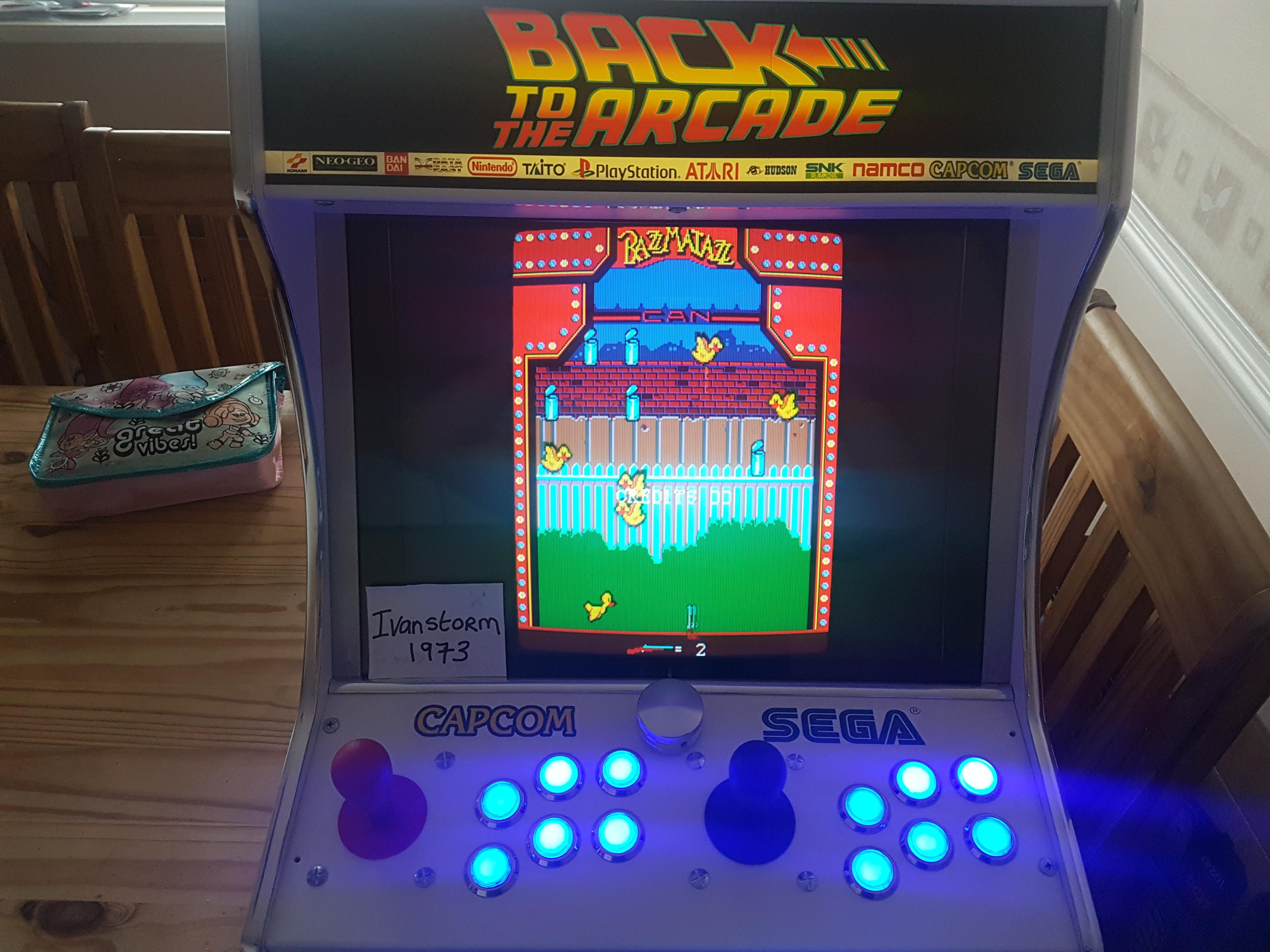 Ivanstorm1973: Razzmatazz [razmataz] (Arcade Emulated / M.A.M.E.) 44,770 points on 2017-08-16 03:09:40