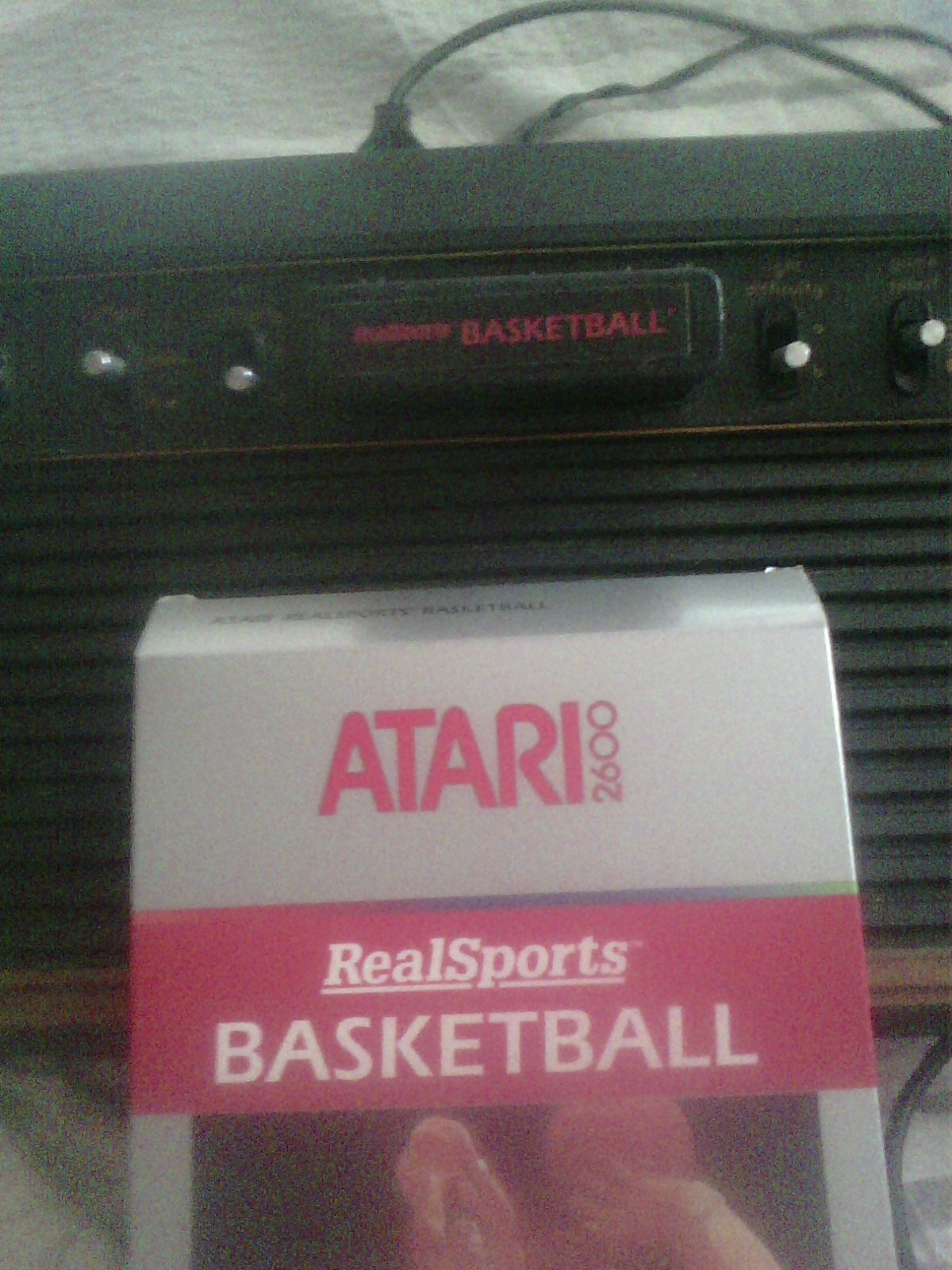 MisterVCS: Real Sports: Basketball [Point Difference] (Atari 2600) 2 points on 2018-03-04 06:57:36