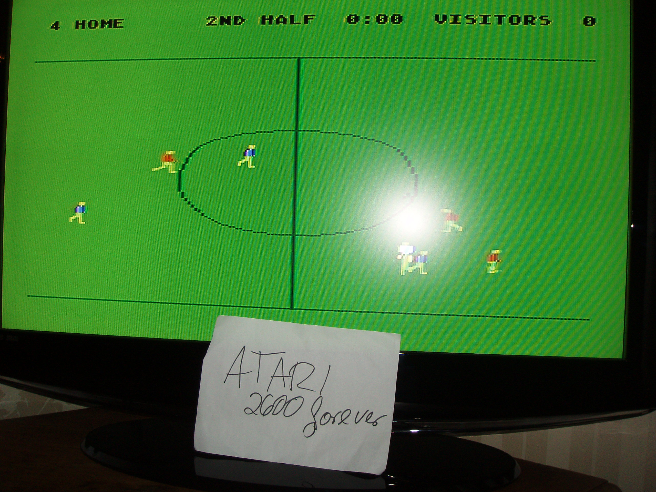 atari2600forever: RealSports Soccer [Point Difference] (Atari 5200) 4 points on 2018-01-24 09:17:21