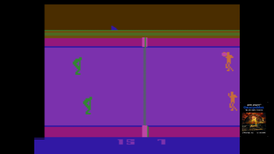 omargeddon: RealSports Volleyball [Point Difference] (Atari 2600 Emulated Expert/A Mode) 8 points on 2017-10-27 18:38:17
