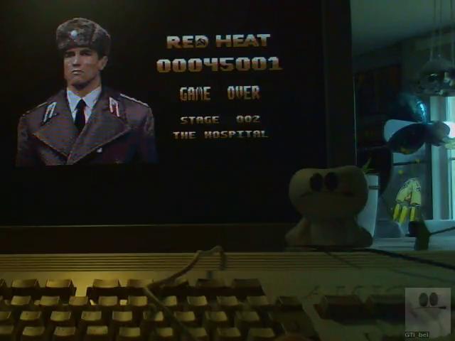 GTibel: Red Heat (Amiga) 45,001 points on 2018-01-29 03:28:20