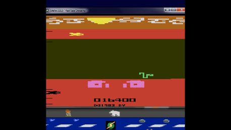 S.BAZ: Red Sea Crossing (Atari 2600 Emulated Novice/B Mode) 16,400 points on 2020-06-04 14:43:05
