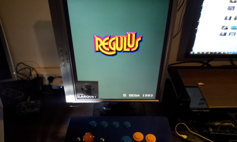 Larquey: Regulus (Arcade Emulated / M.A.M.E.) 19,930 points on 2018-01-07 12:33:56