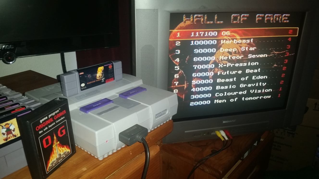 OriginalGamer: Rendering Ranger R2 (SNES/Super Famicom) 117,100 points on 2016-06-27 21:42:59