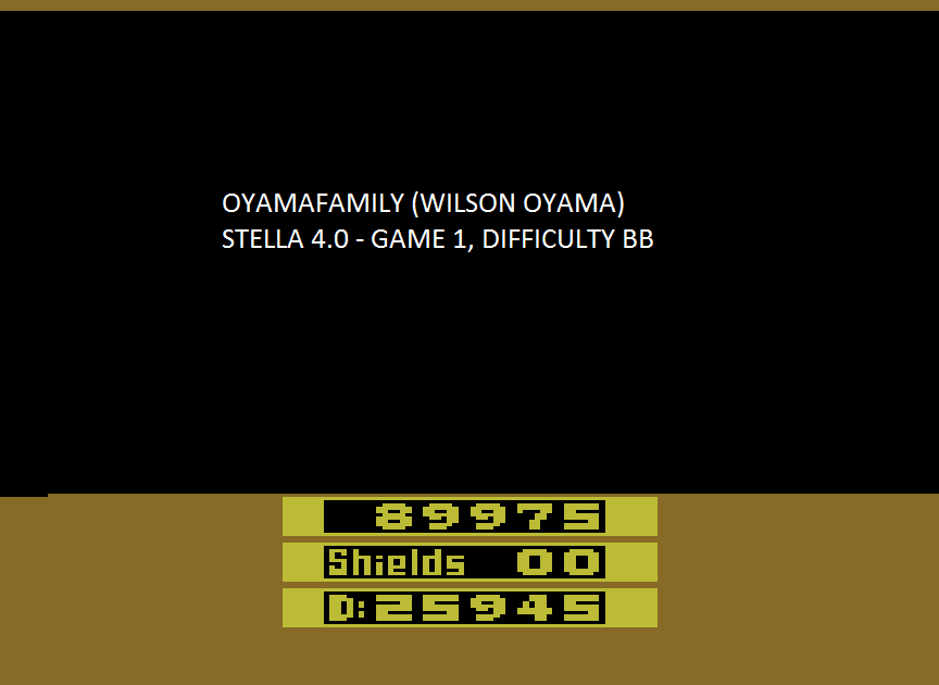 oyamafamily: Rescue Terra I (Atari 2600 Emulated Novice/B Mode) 89,975 points on 2015-08-16 12:08:34