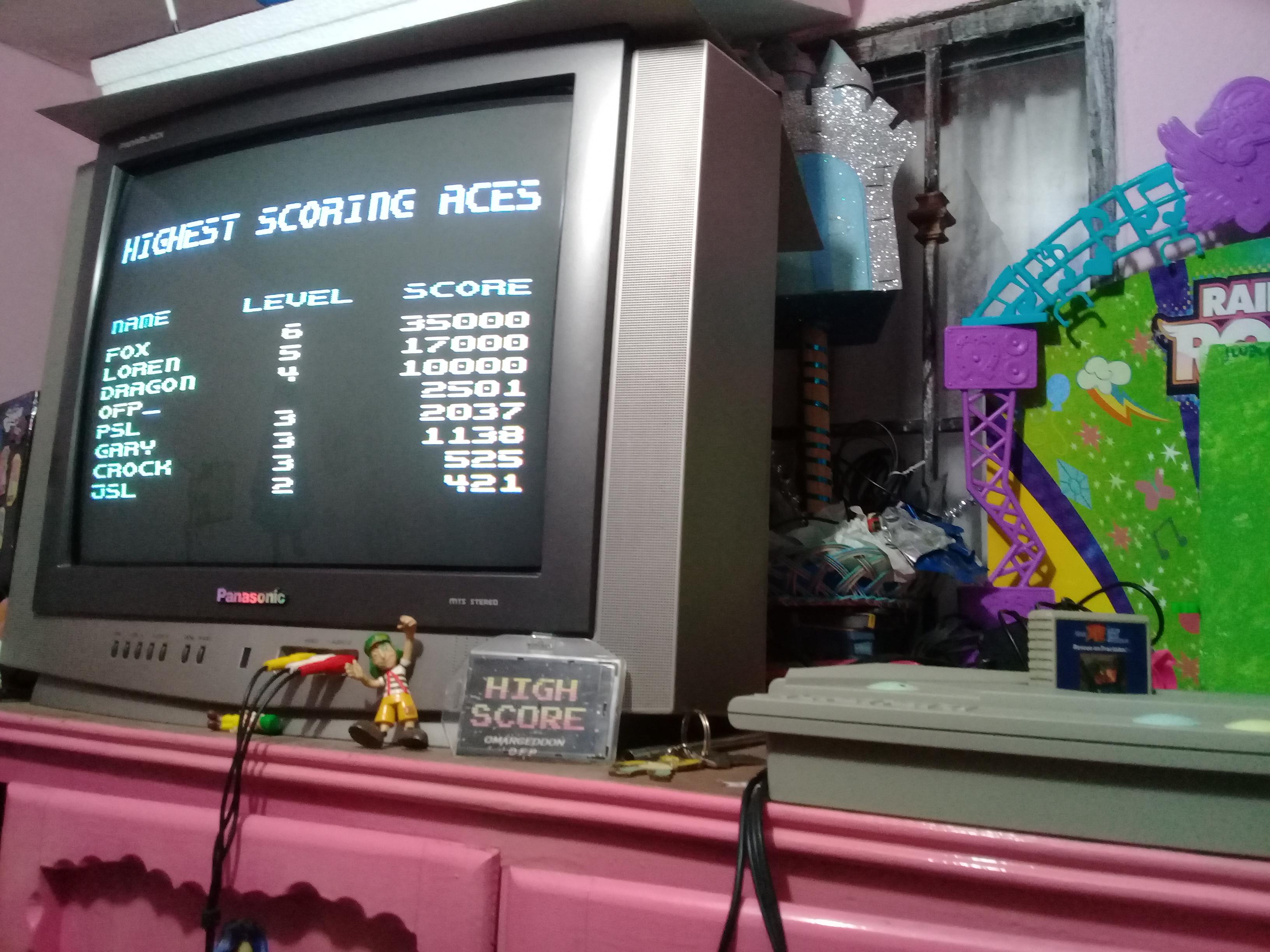 omargeddon: Rescue on Fractalus (Atari 400/800/XL/XE) 2,501 points on 2019-01-08 19:02:35
