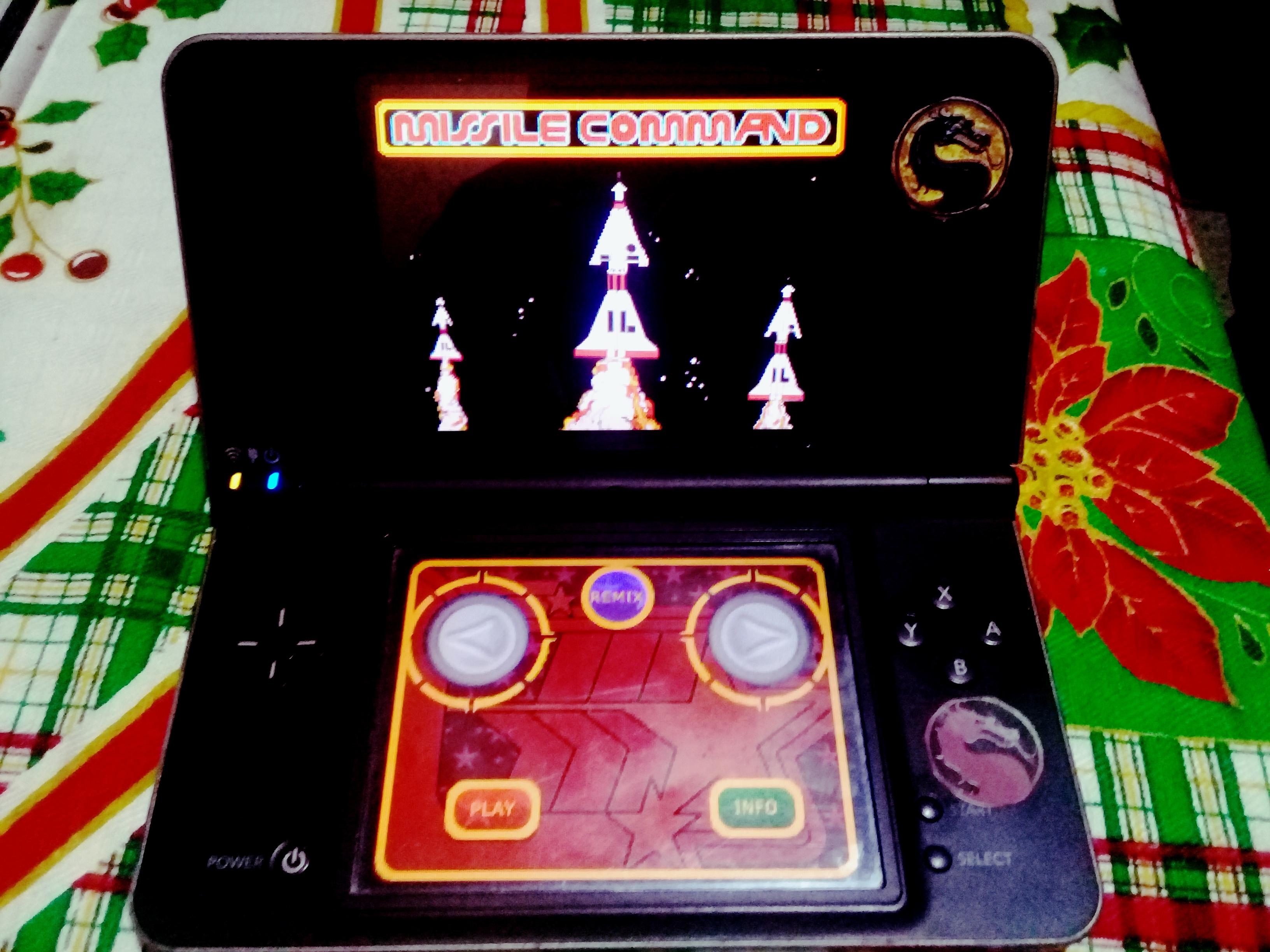 omargeddon: Retro Atari Classics: Missile Command [Arcade] (Nintendo DS) 15,865 points on 2021-01-03 16:07:47