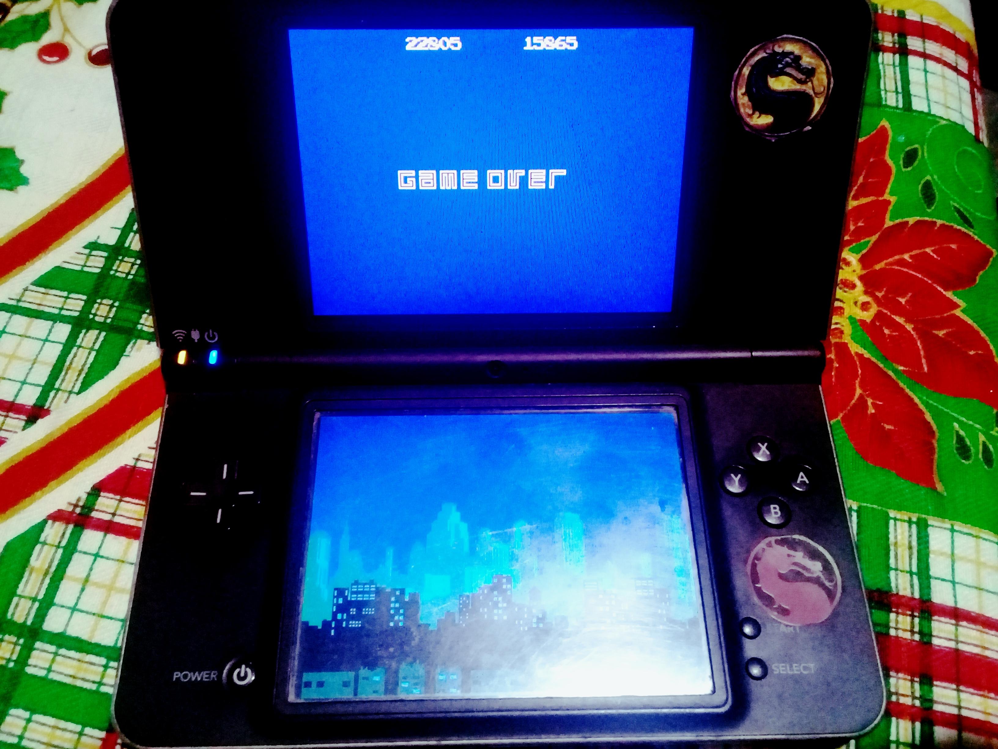 omargeddon: Retro Atari Classics: Missile Command [Remix] (Nintendo DS) 22,805 points on 2021-01-03 16:21:32
