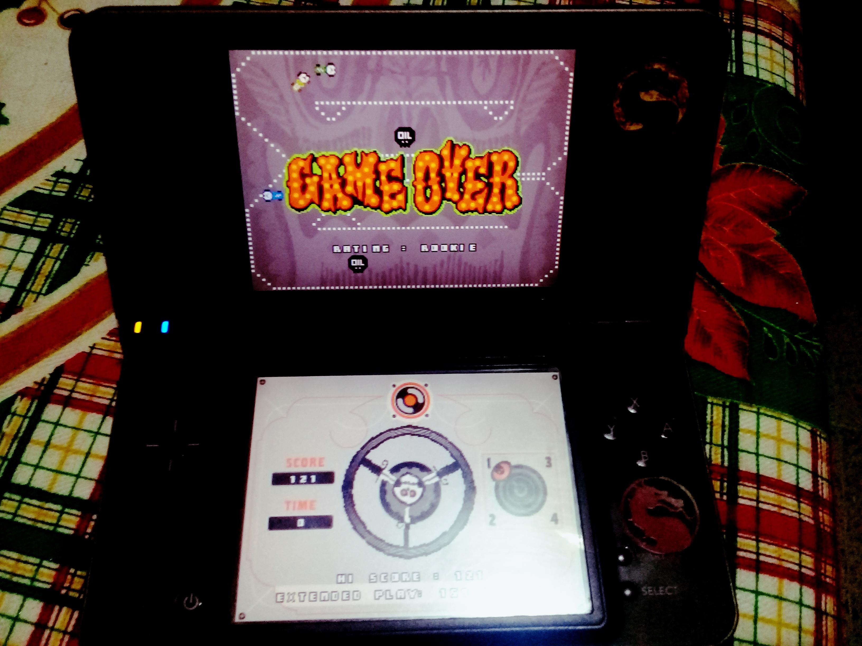 omargeddon: Retro Atari Classics: Sprint [Remix] (Nintendo DS) 121 points on 2021-01-03 16:31:08