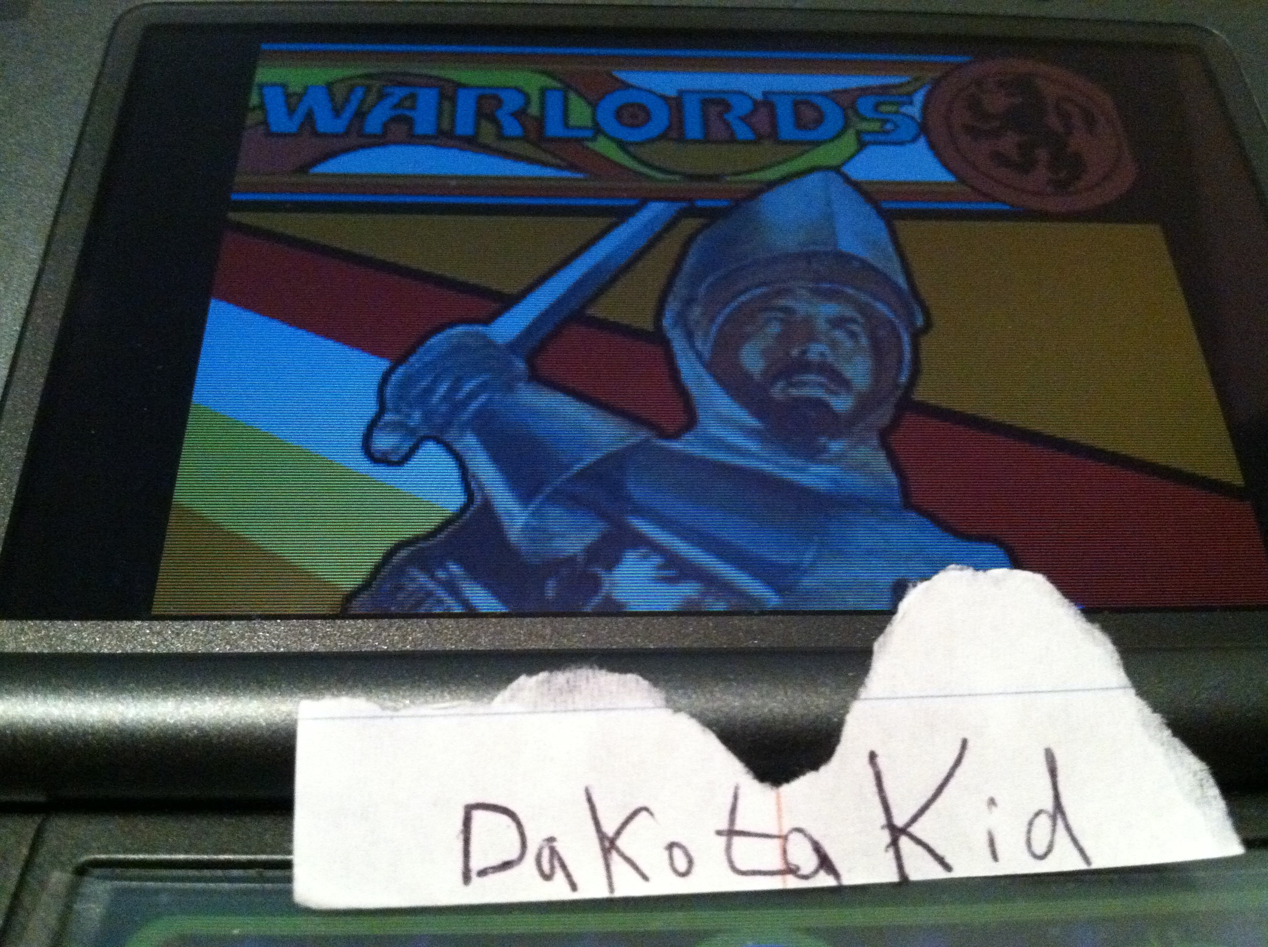 DakotaKid: Retro Atari Classics: Warlords [Arcade] (Nintendo DS) 13,625 points on 2017-11-30 17:40:38