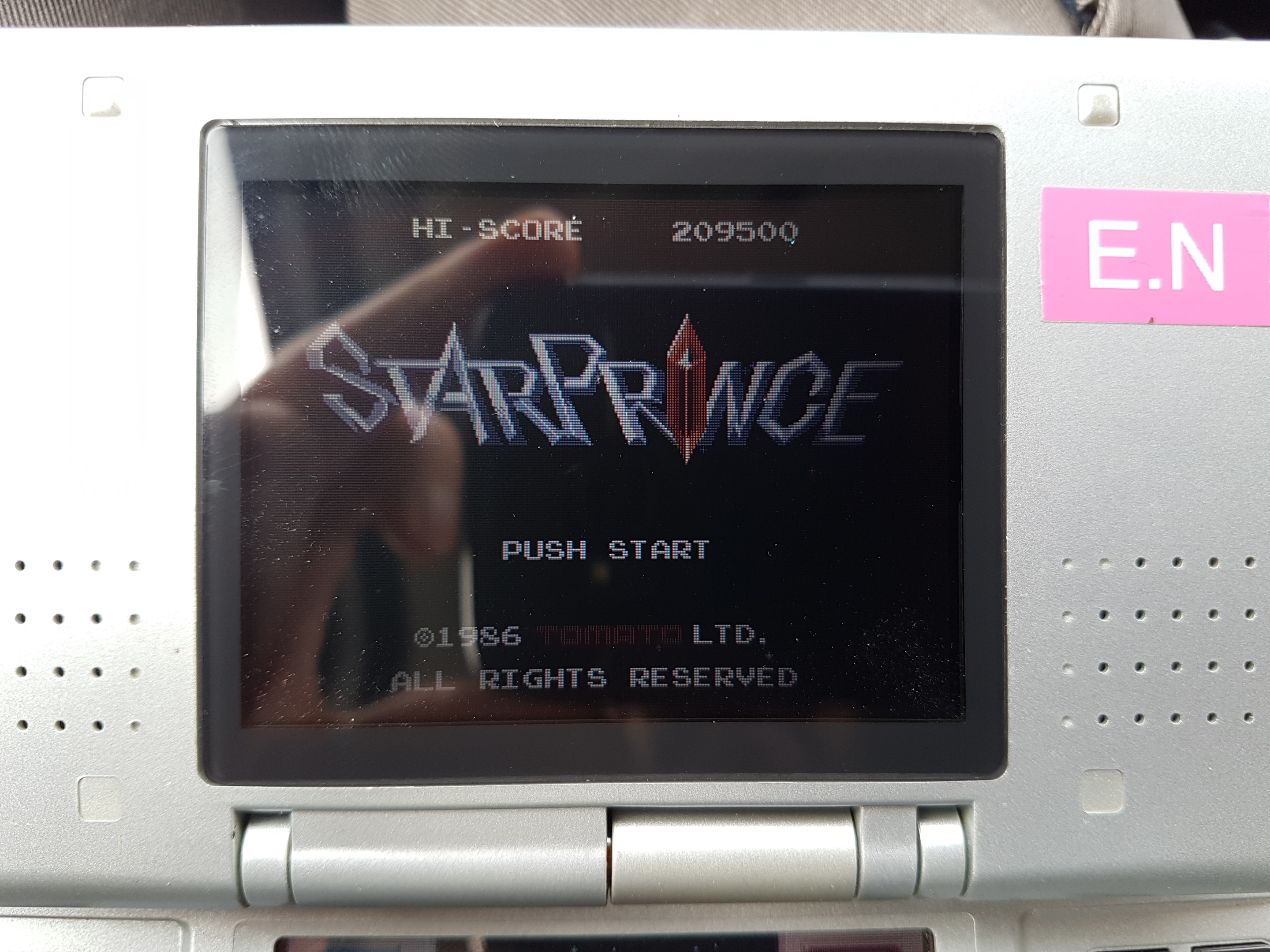 Retro Game Challenge: Free Play: Star Prince 209,500 points