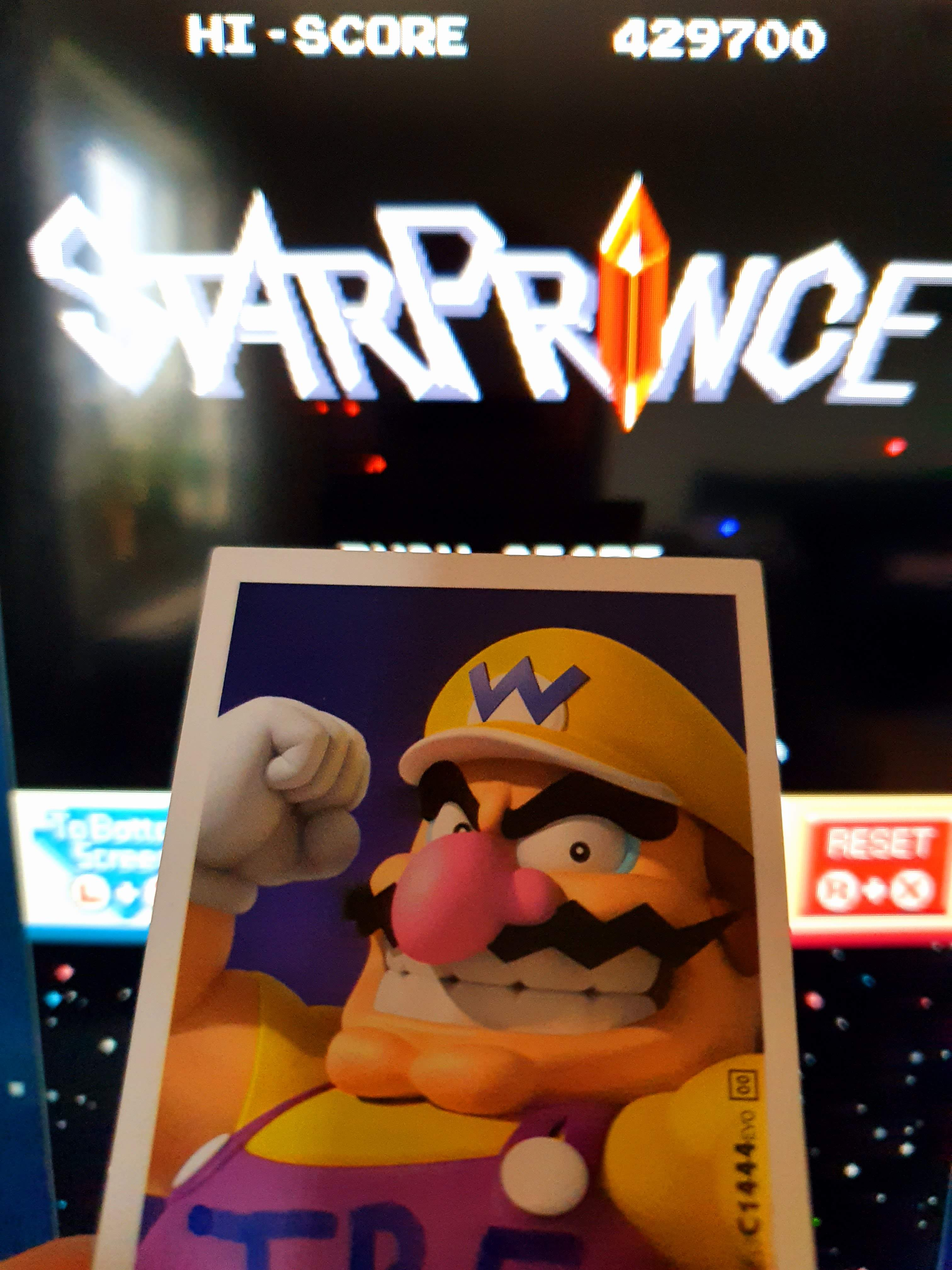 Sixx: Retro Game Challenge: Free Play: Star Prince (Nintendo DS Emulated) 429,700 points on 2020-04-26 12:52:22