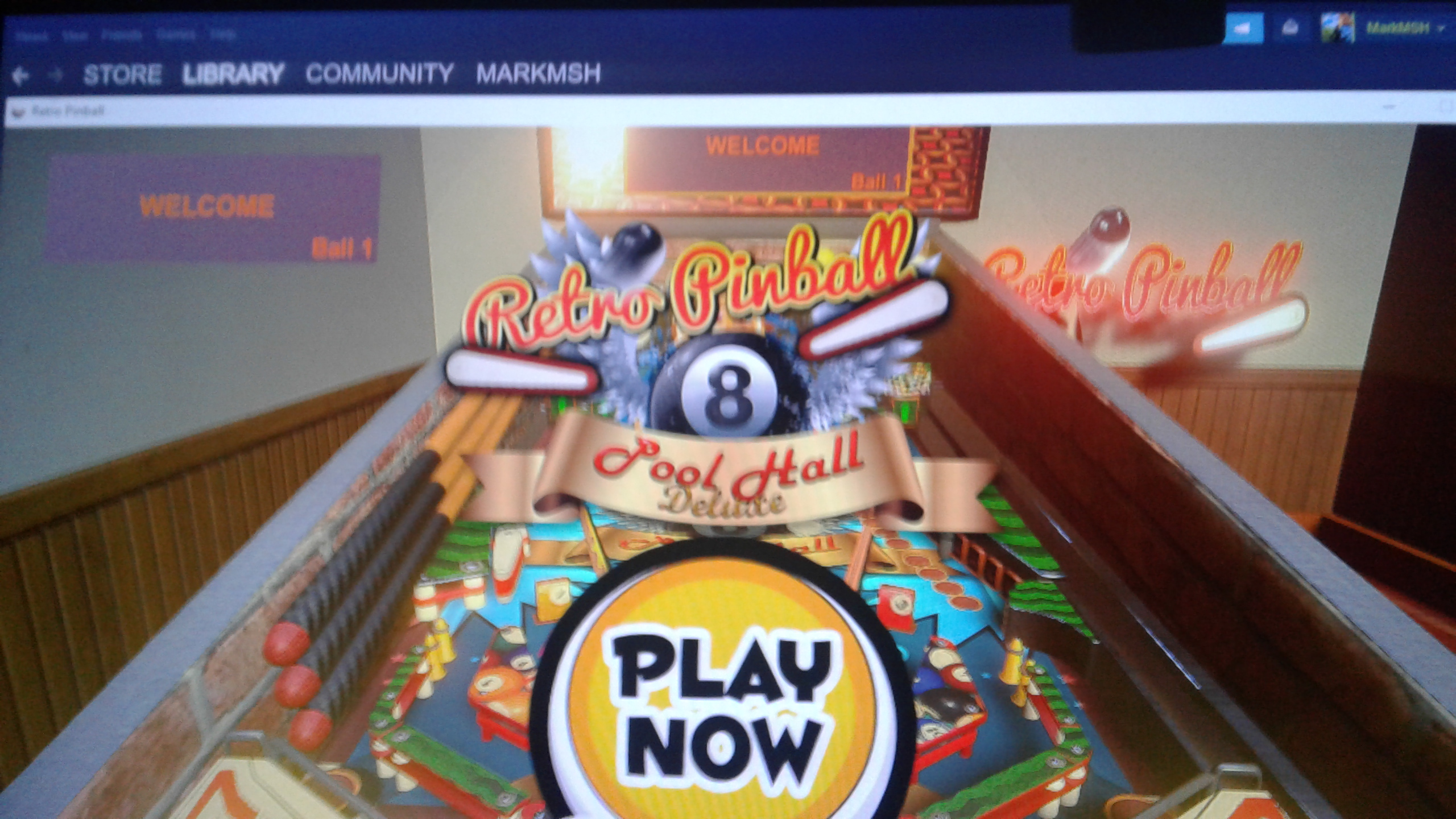 Mark: Retro Pinball: Pool Hall Deluxe (PC) 754,200 points on 2020-05-08 01:12:29