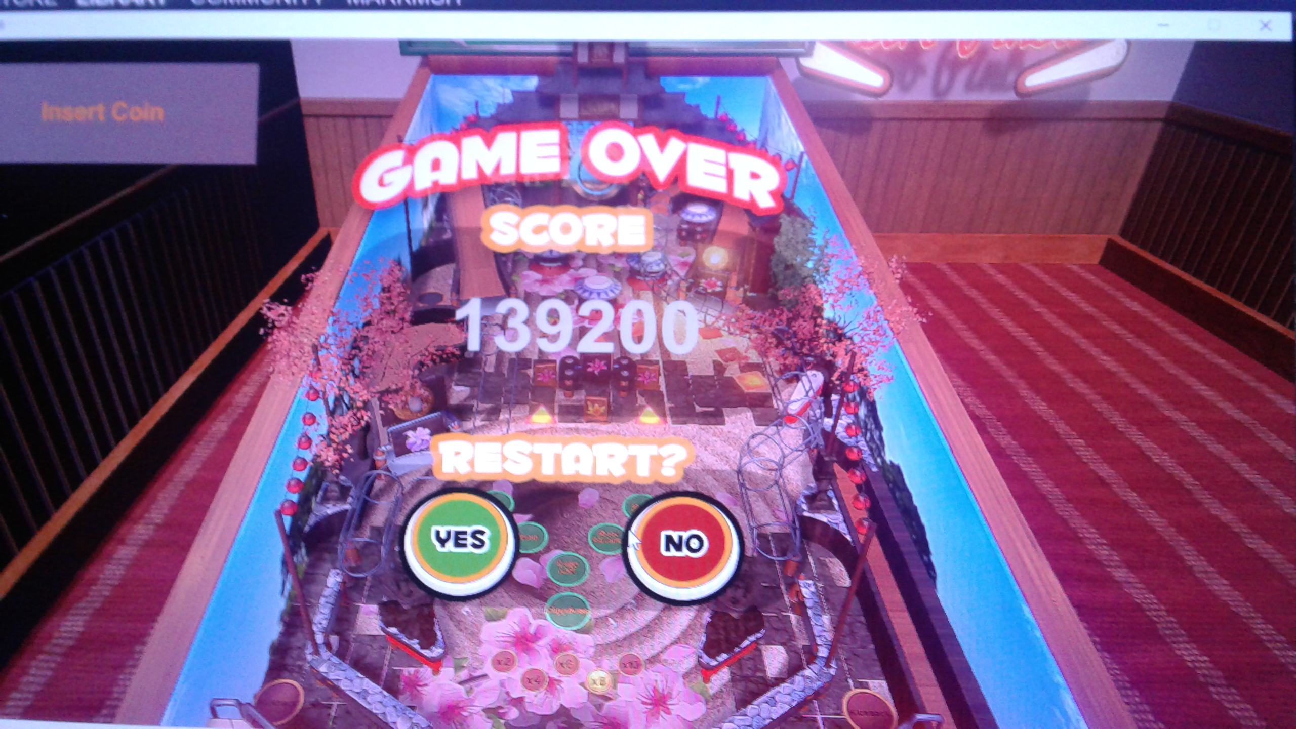 Mark: Retro Pinball: Zen Garden (PC) 139,200 points on 2020-05-08 01:30:57