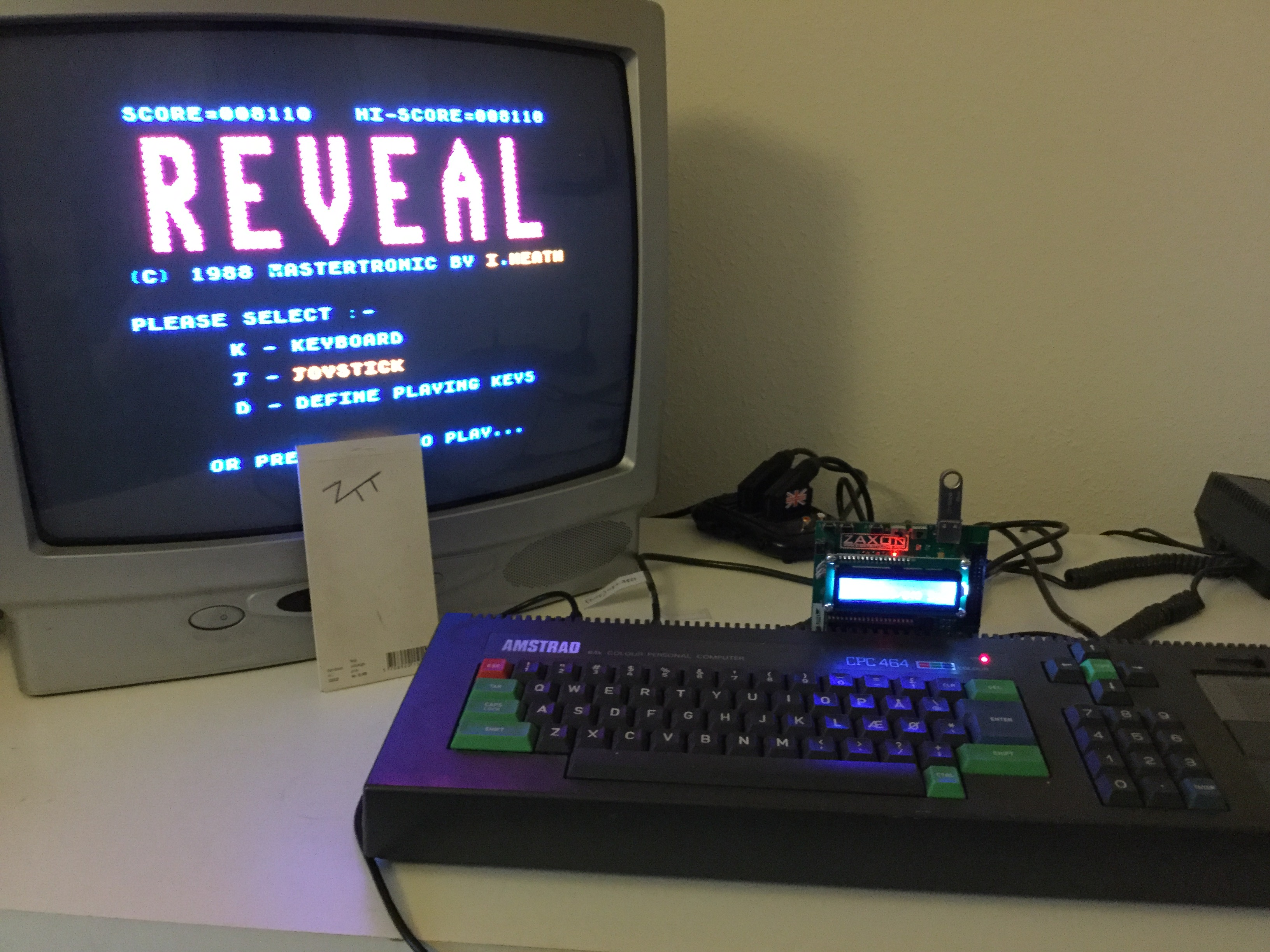 Frankie: Reveal (Amstrad CPC) 8,110 points on 2017-03-14 11:58:42