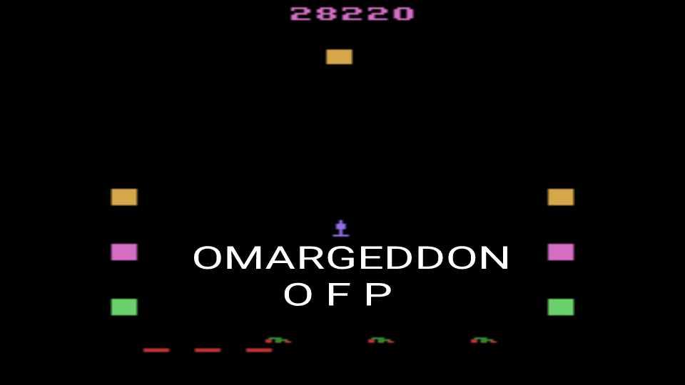 omargeddon: Revenge of the Beefsteak Tomatoes (Atari 2600 Emulated Novice/B Mode) 28,220 points on 2016-12-13 23:46:08