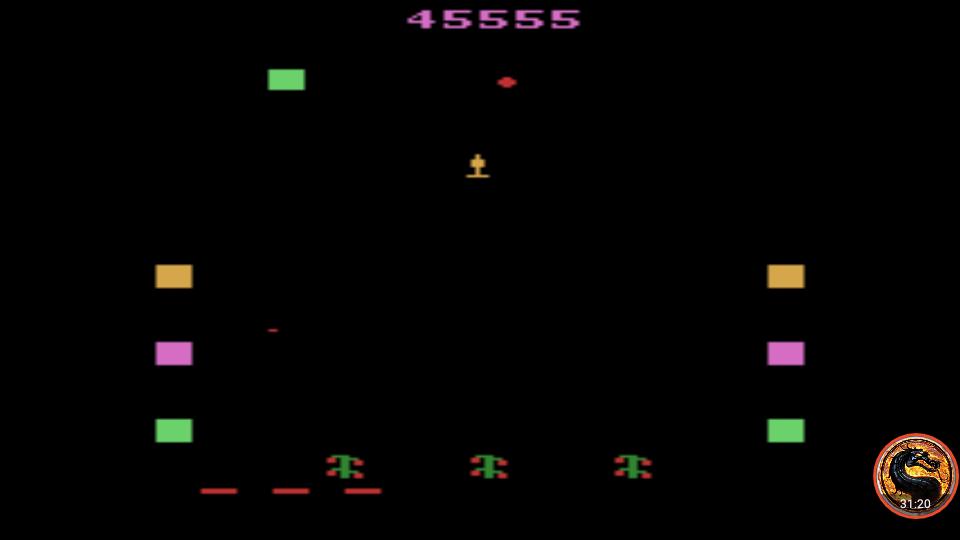 omargeddon: Revenge of the Beefsteak Tomatoes (Atari 2600 Emulated Novice/B Mode) 45,555 points on 2019-01-29 18:44:47