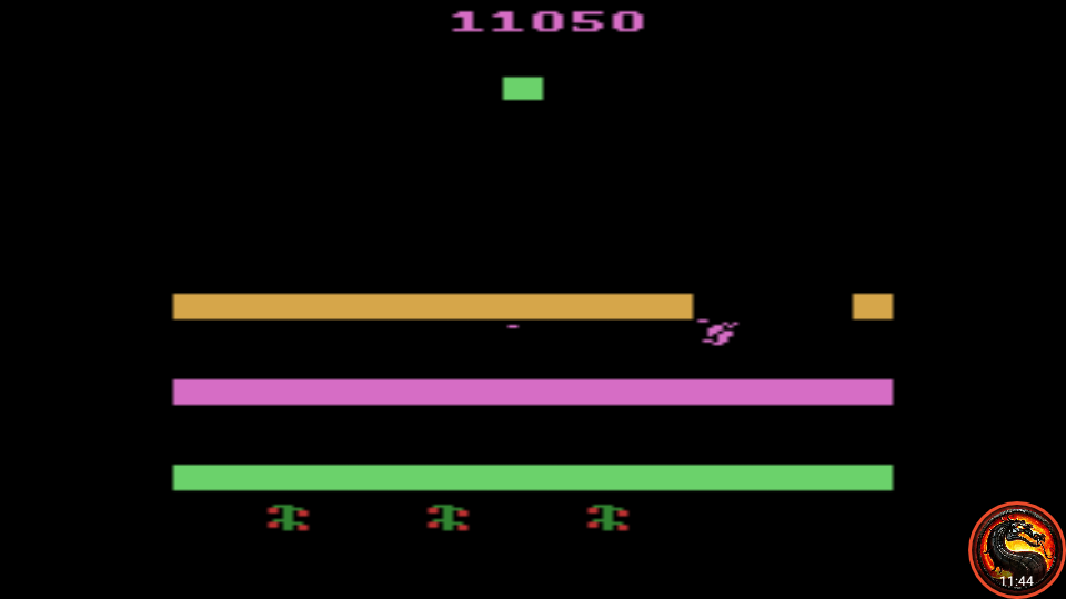 omargeddon: Revenge of the Beefsteak Tomatoes: Game 1AB (Atari 2600 Emulated) 11,050 points on 2020-10-01 21:02:32