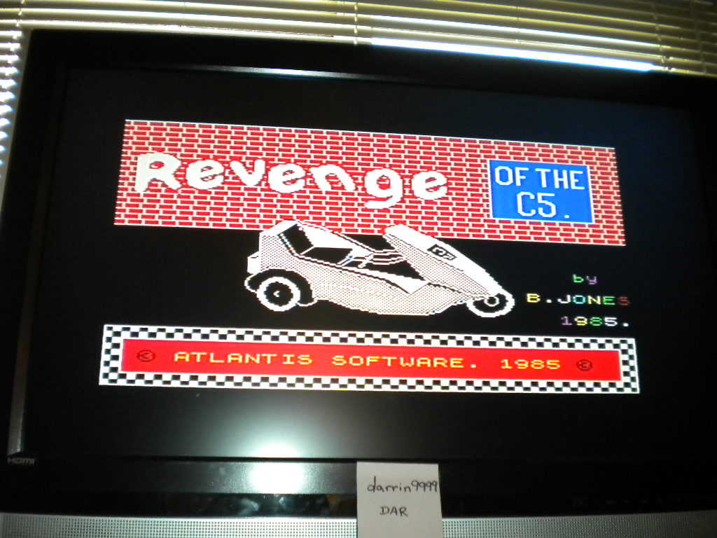 darrin9999: Revenge of the C5 [Learners] (ZX Spectrum Emulated) 70 points on 2016-08-19 12:18:48