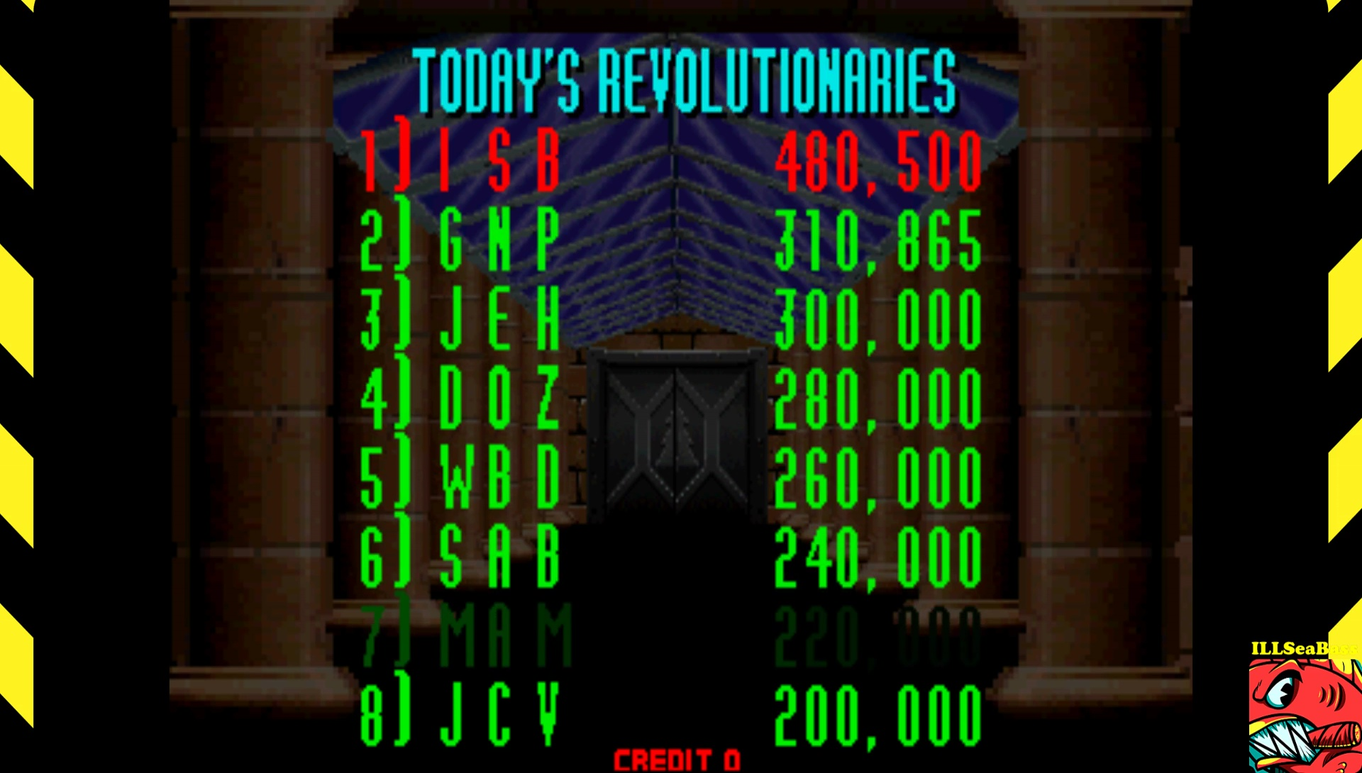 ILLSeaBass: Revolution X (Arcade Emulated / M.A.M.E.) 480,500 points on 2017-08-02 21:37:37