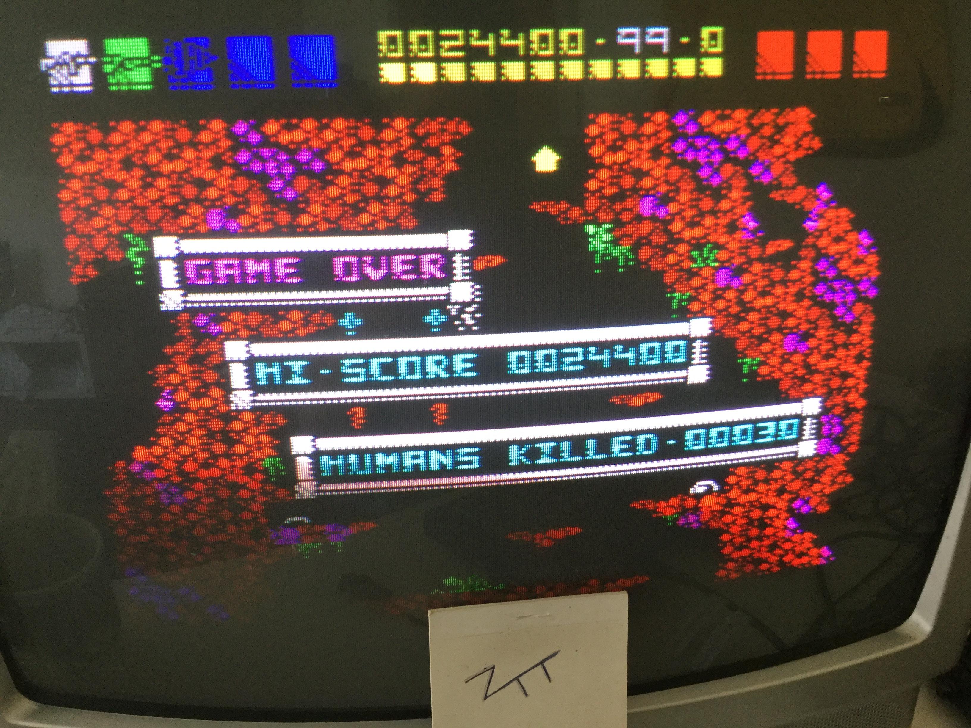 Frankie: Rex (ZX Spectrum) 24,400 points on 2017-09-03 03:53:38