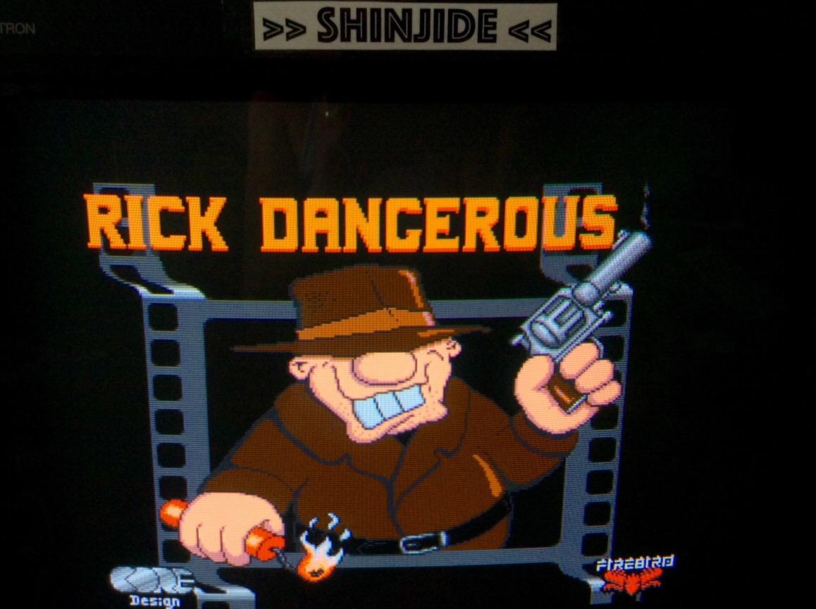 Rick Dangerous 15,570 points