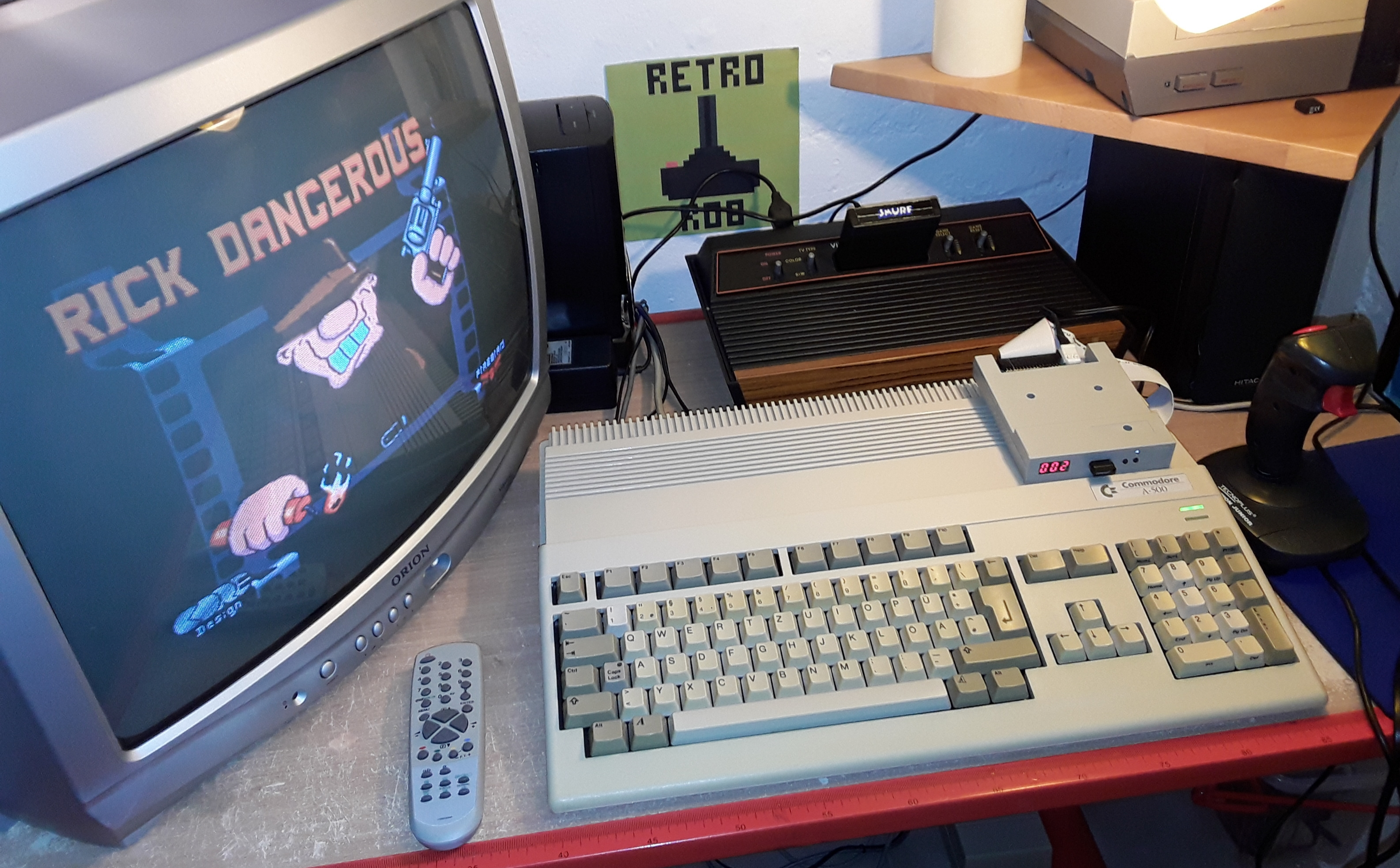 RetroRob: Rick Dangerous (Amiga) 10,220 points on 2019-01-20 04:51:40