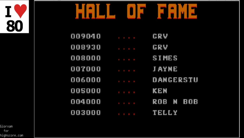 Giorvam: Rick Dangerous (Atari ST Emulated) 9,040 points on 2019-12-22 13:09:05