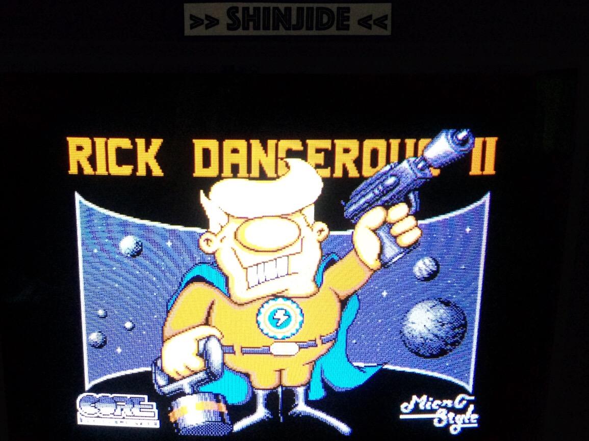 Rick Dangerous II 19,820 points