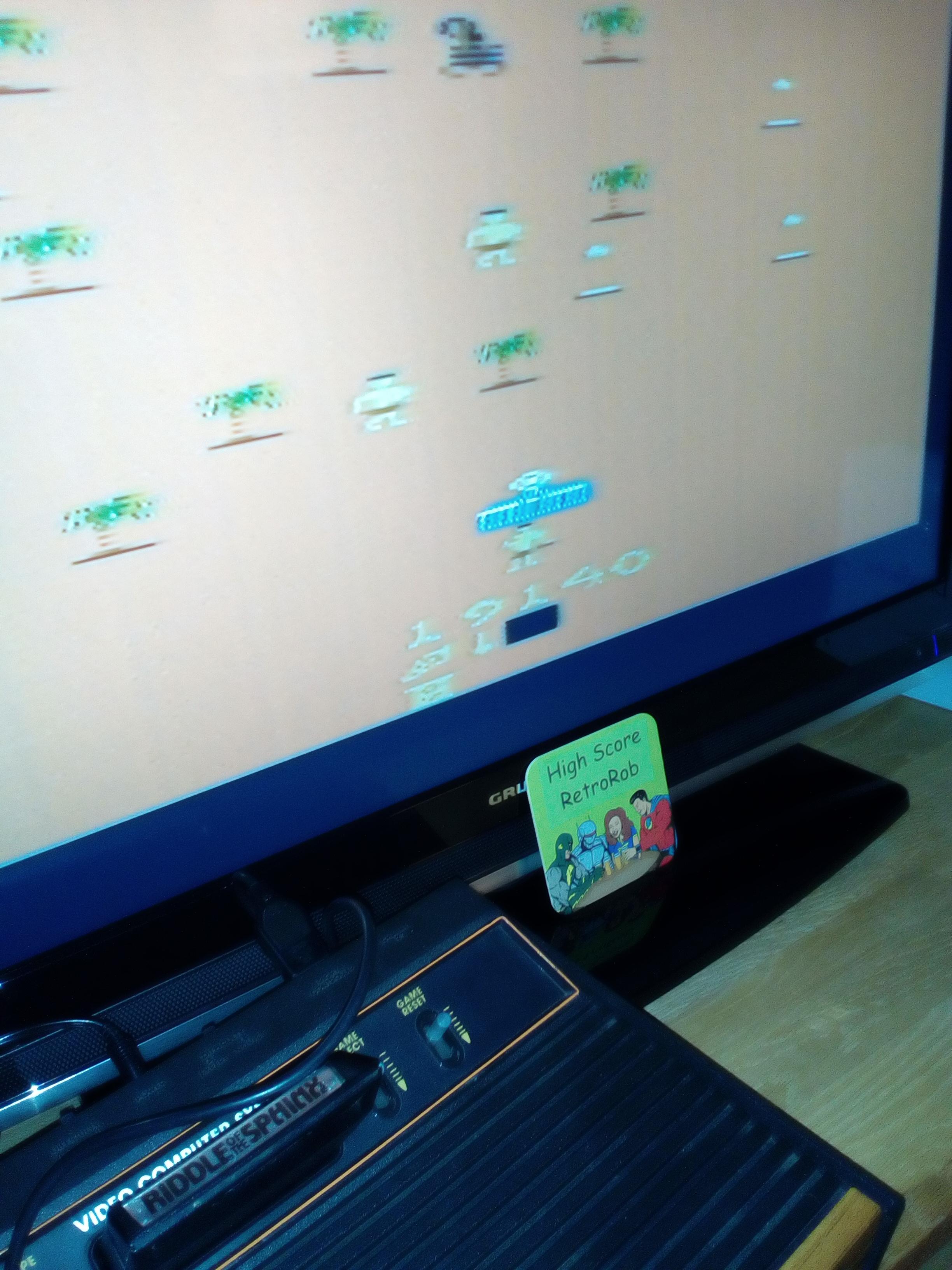 RetroRob: Riddle of the Sphinx (Atari 2600 Novice/B) 19,140 points on 2018-03-09 10:36:52