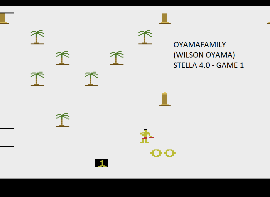 oyamafamily: Riddle of the Sphinx (Atari 2600 Emulated Novice/B Mode) 12,486 points on 2015-08-16 20:06:30