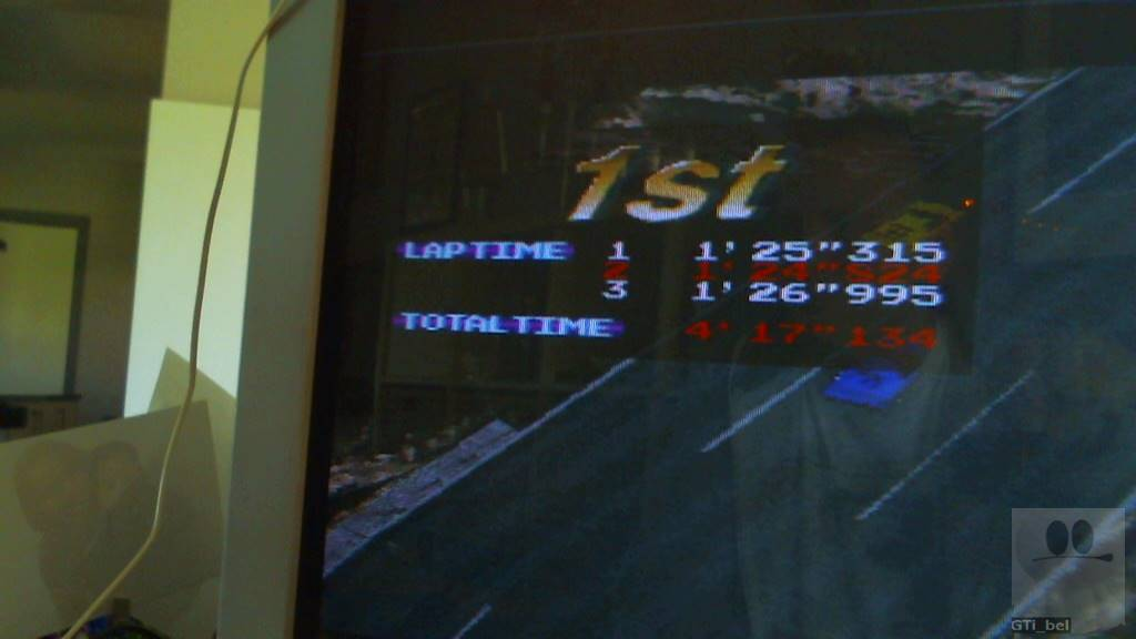 GTibel: Ridge Racer: High-Level (Playstation 1) 0:04:17.134 points on 2018-05-05 03:43:01