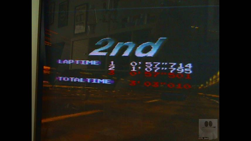 Ridge Racer: Mid-Level [Extra] time of 0:03:03.01