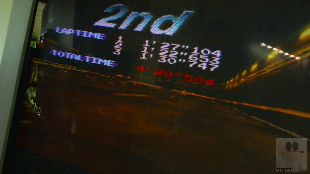 Ridge Racer: T.T. [Extra] time of 0:04:20.504